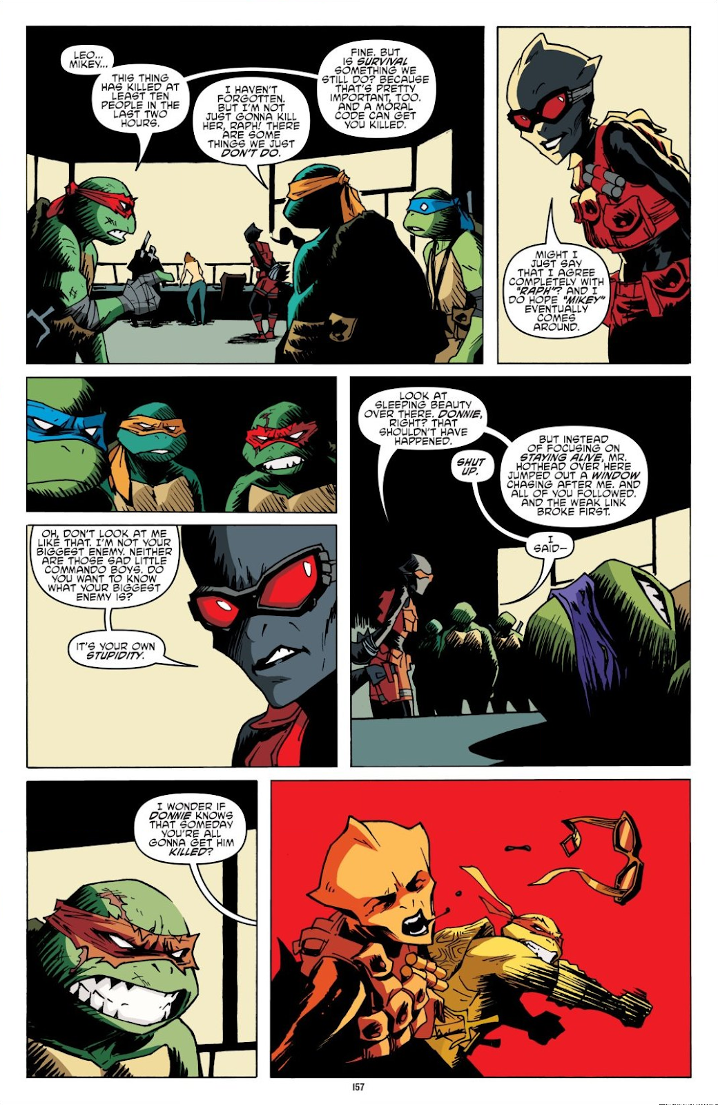 Read online Teenage Mutant Ninja Turtles: The IDW Collection comic -  Issue # TPB 8 (Part 2) - 56