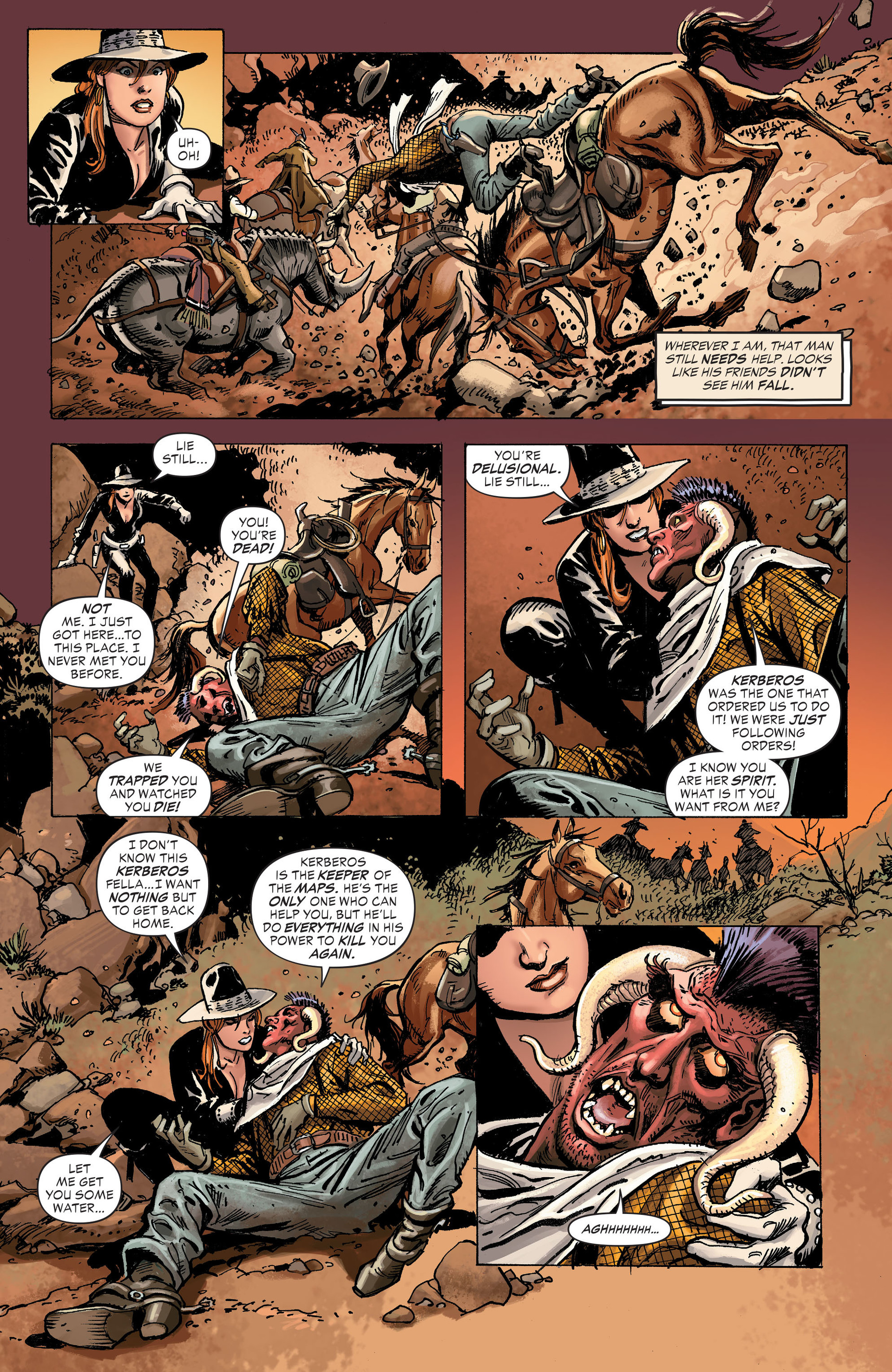 Read online All-Star Western (2011) comic -  Issue #31 - 17