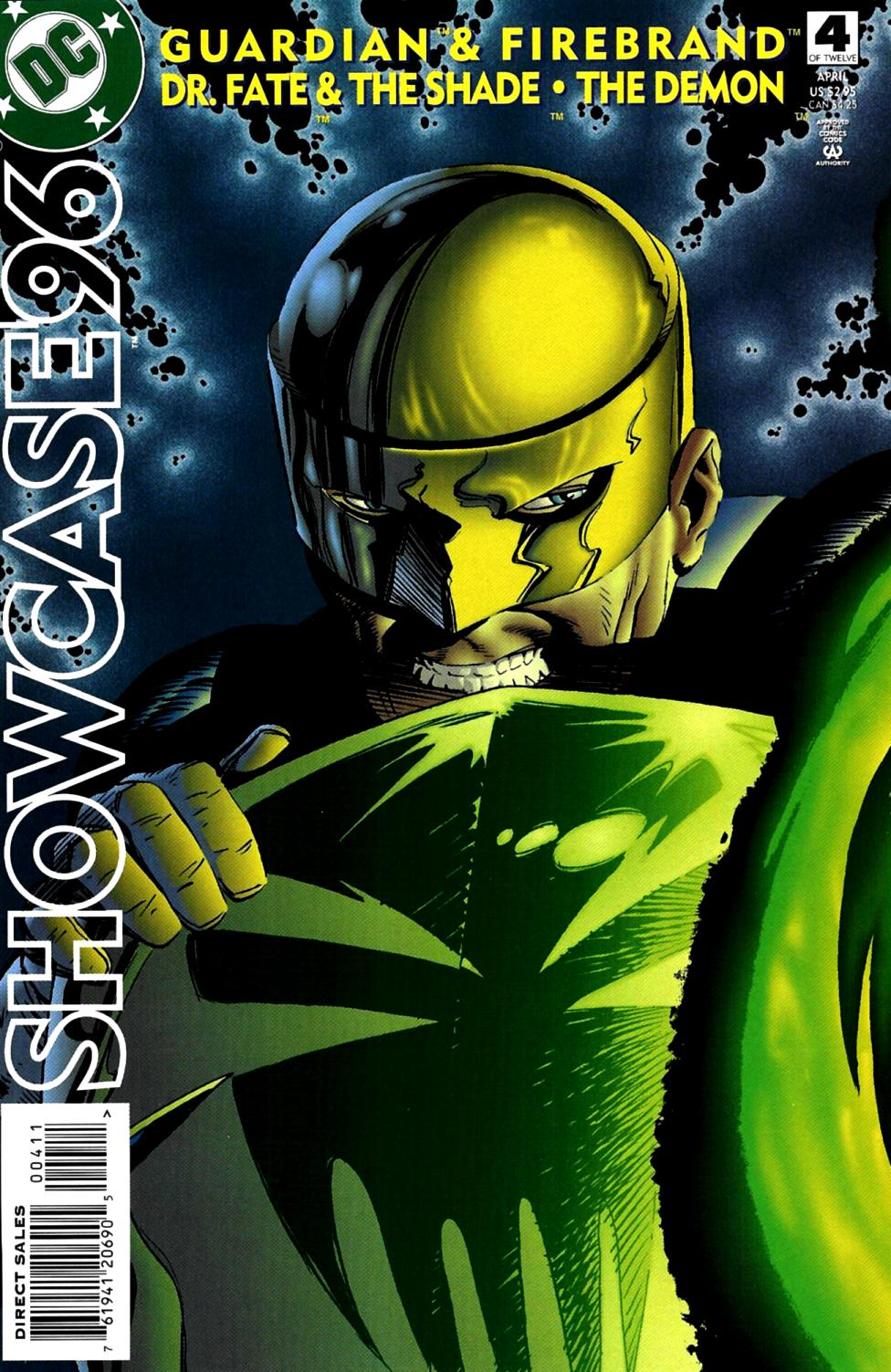 Read online Showcase '96 comic -  Issue #4 - 1