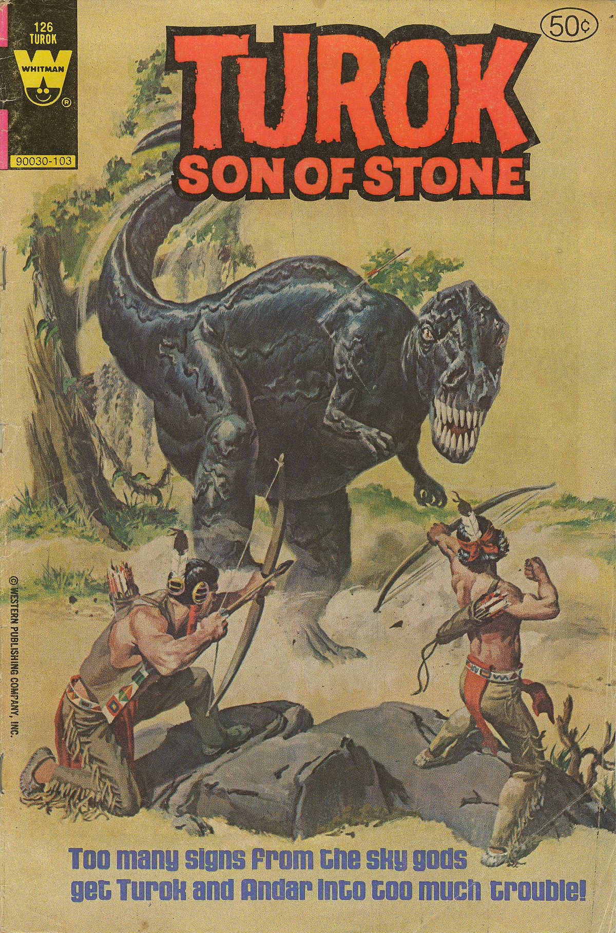 Read online Turok, Son of Stone comic -  Issue #126 - 1