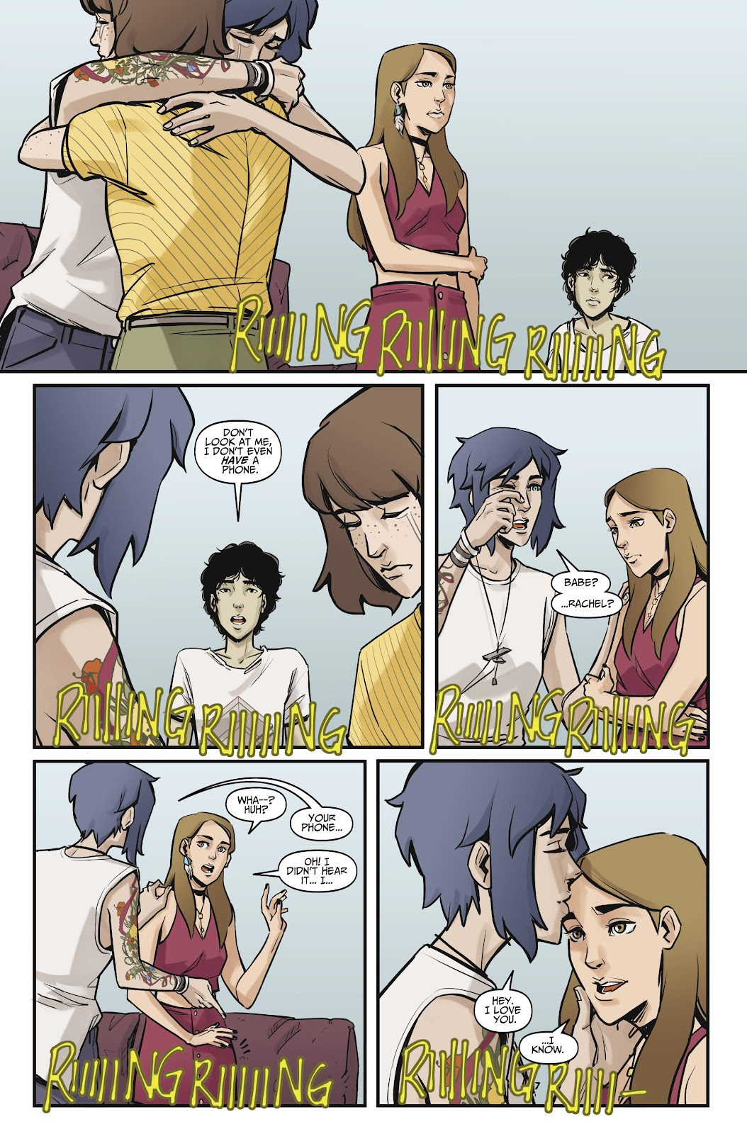 Read online Life is Strange comic -  Issue #9 - 17