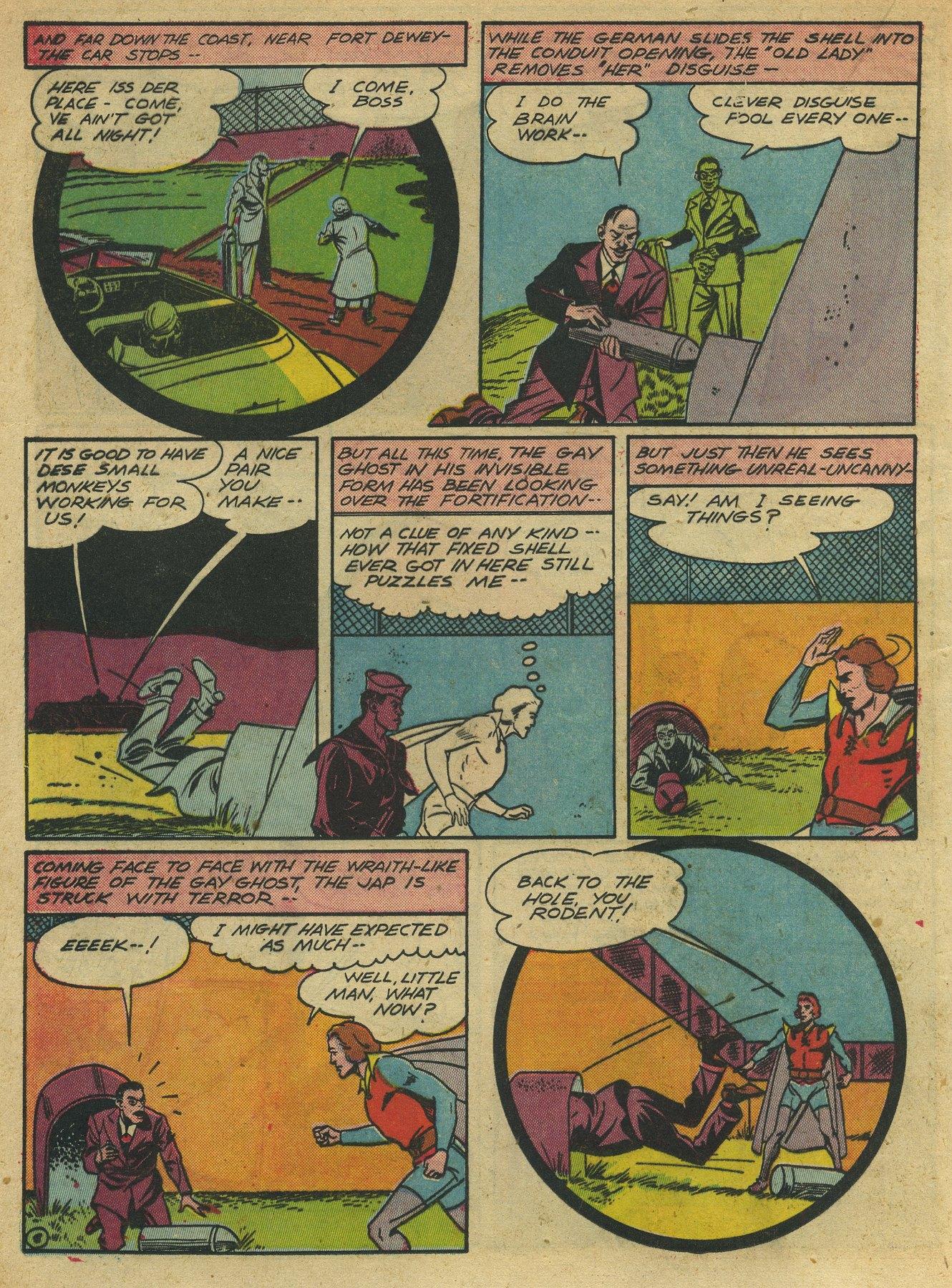Read online Sensation (Mystery) Comics comic -  Issue #10 - 44