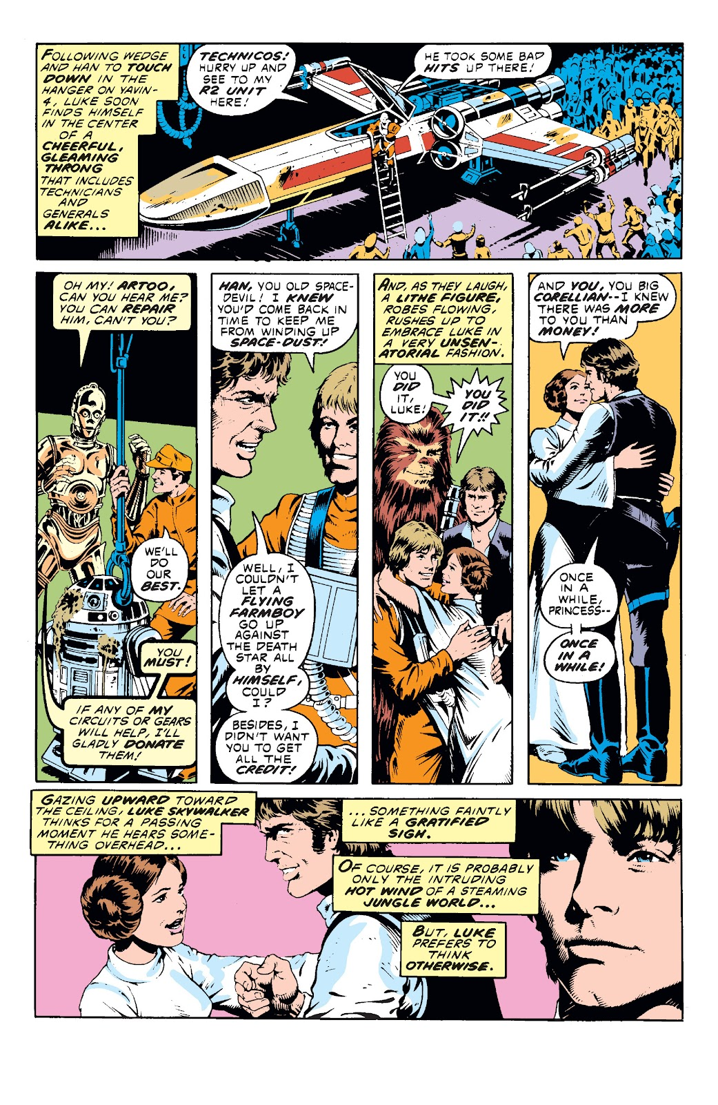 Read online Star Wars Legends: The Original Marvel Years - Epic Collection comic -  Issue # TPB 1 (Part 2) - 15