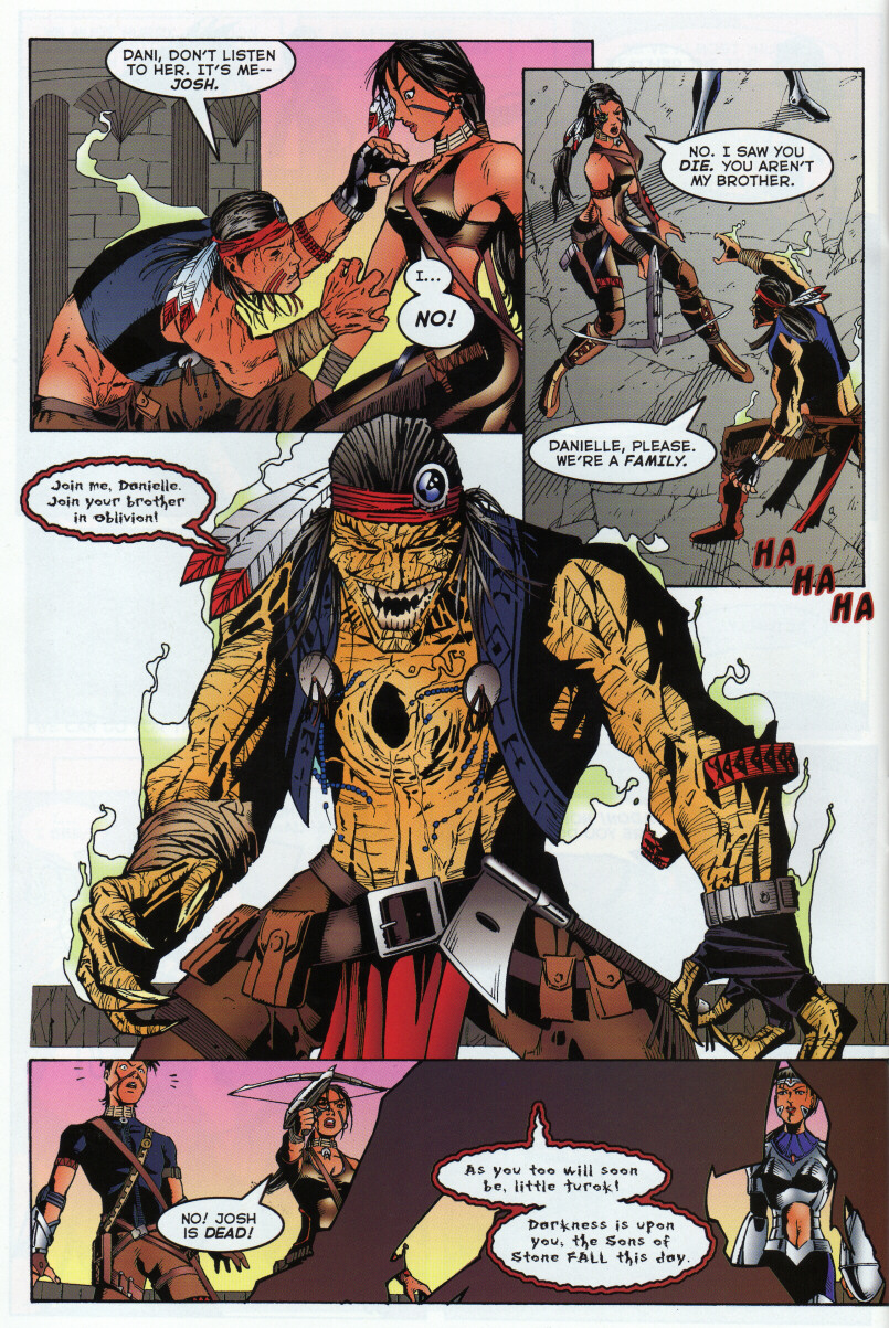 Read online Turok 3: Shadow of Oblivion comic -  Issue # Full - 29