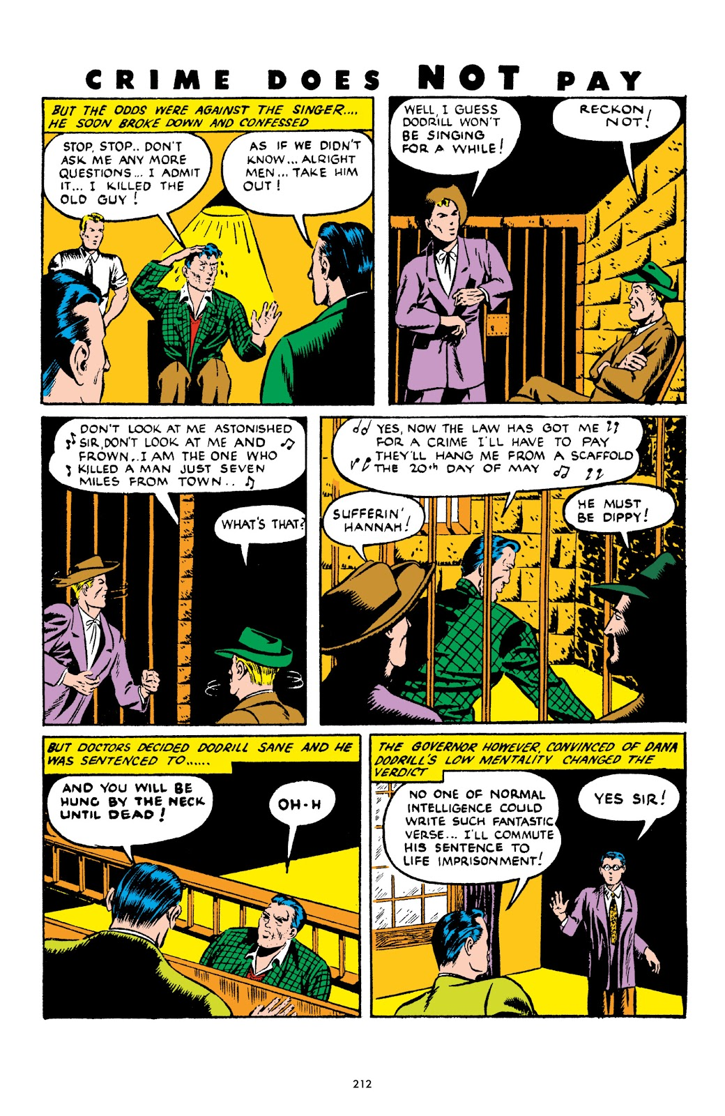 Read online Crime Does Not Pay Archives comic -  Issue # TPB 4 (Part 3) - 12