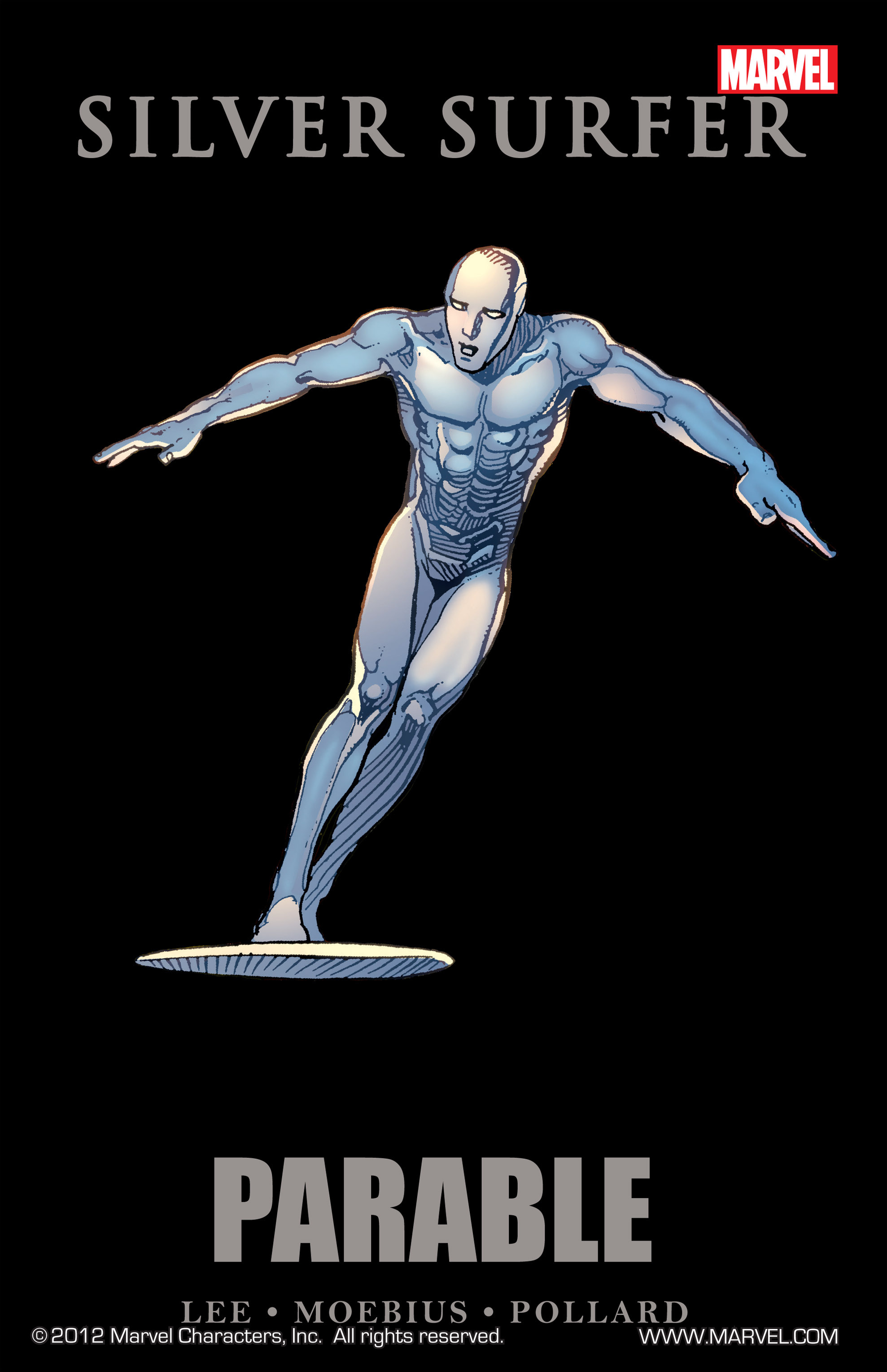 Read online Silver Surfer: Parable comic -  Issue # TPB - 1