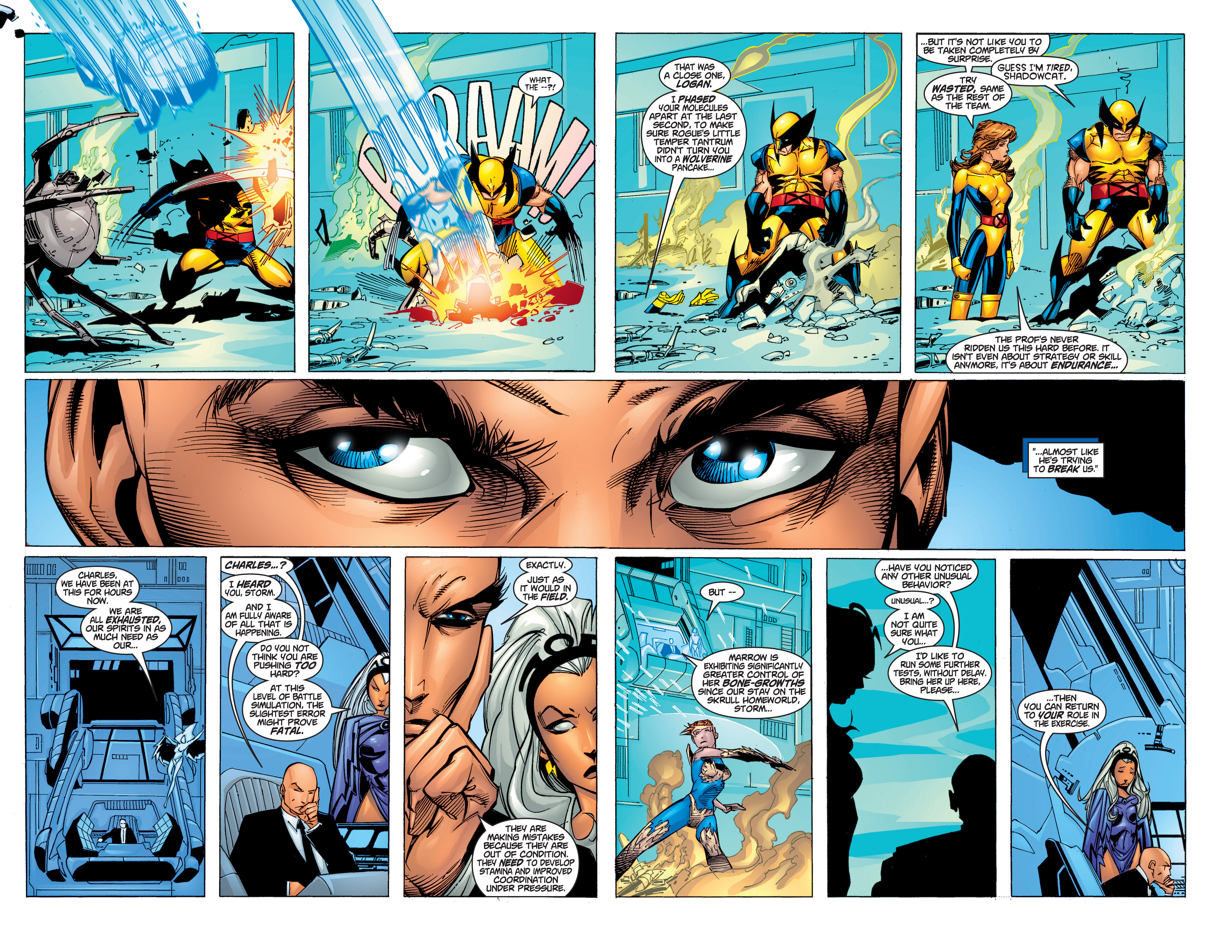Read online Uncanny X-Men (1963) comic -  Issue #372 - 9