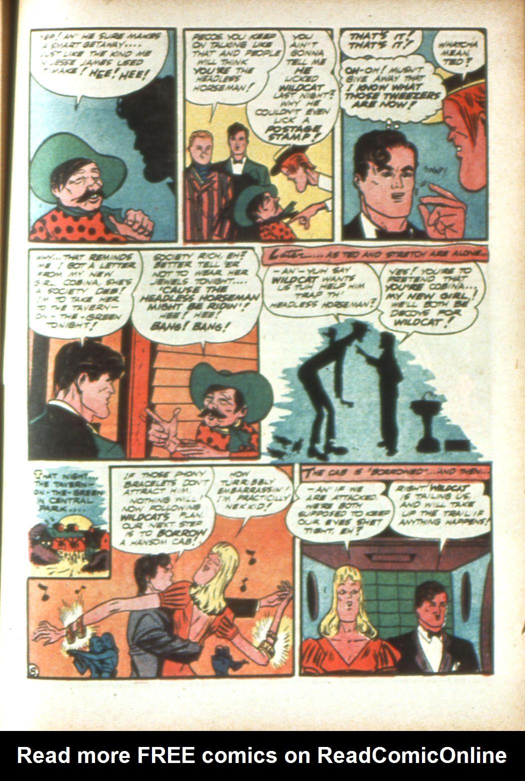 Read online Sensation (Mystery) Comics comic -  Issue #16 - 63