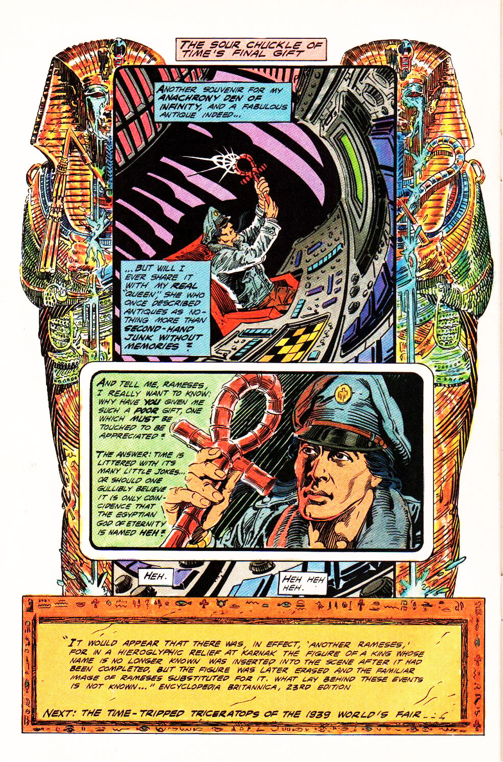 Read online Aztec Ace comic -  Issue #4 - 26