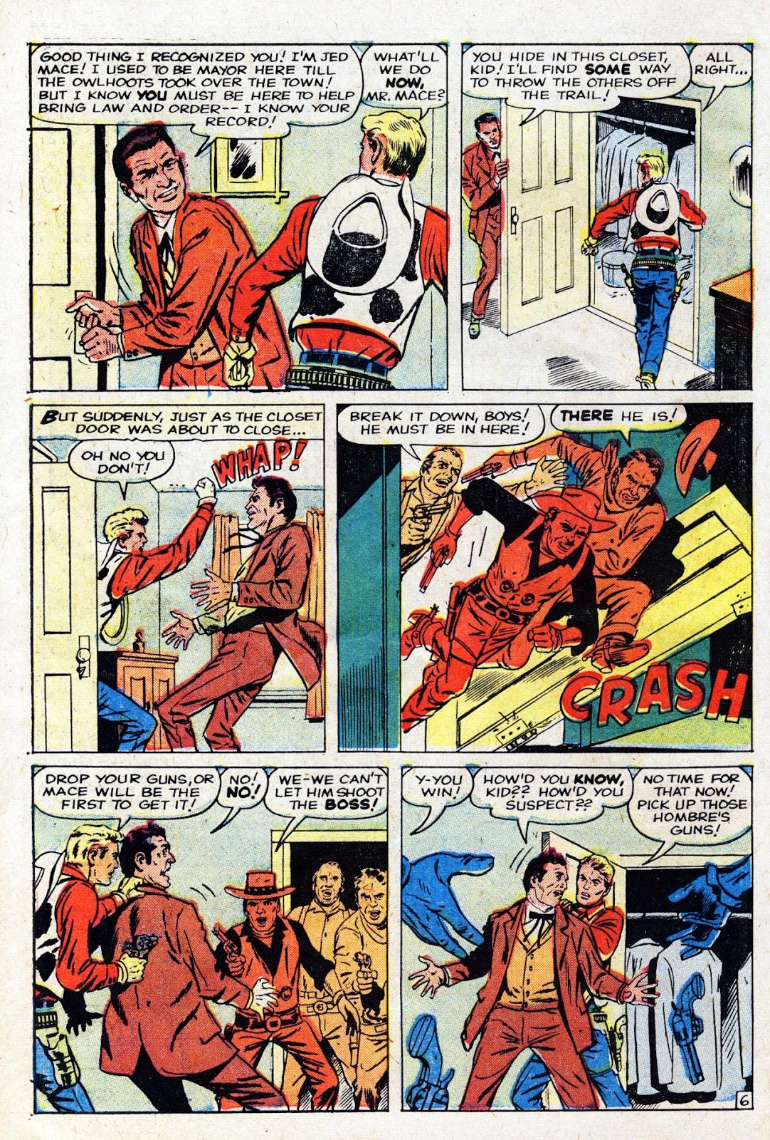 Gunsmoke Western issue 61 - Page 10