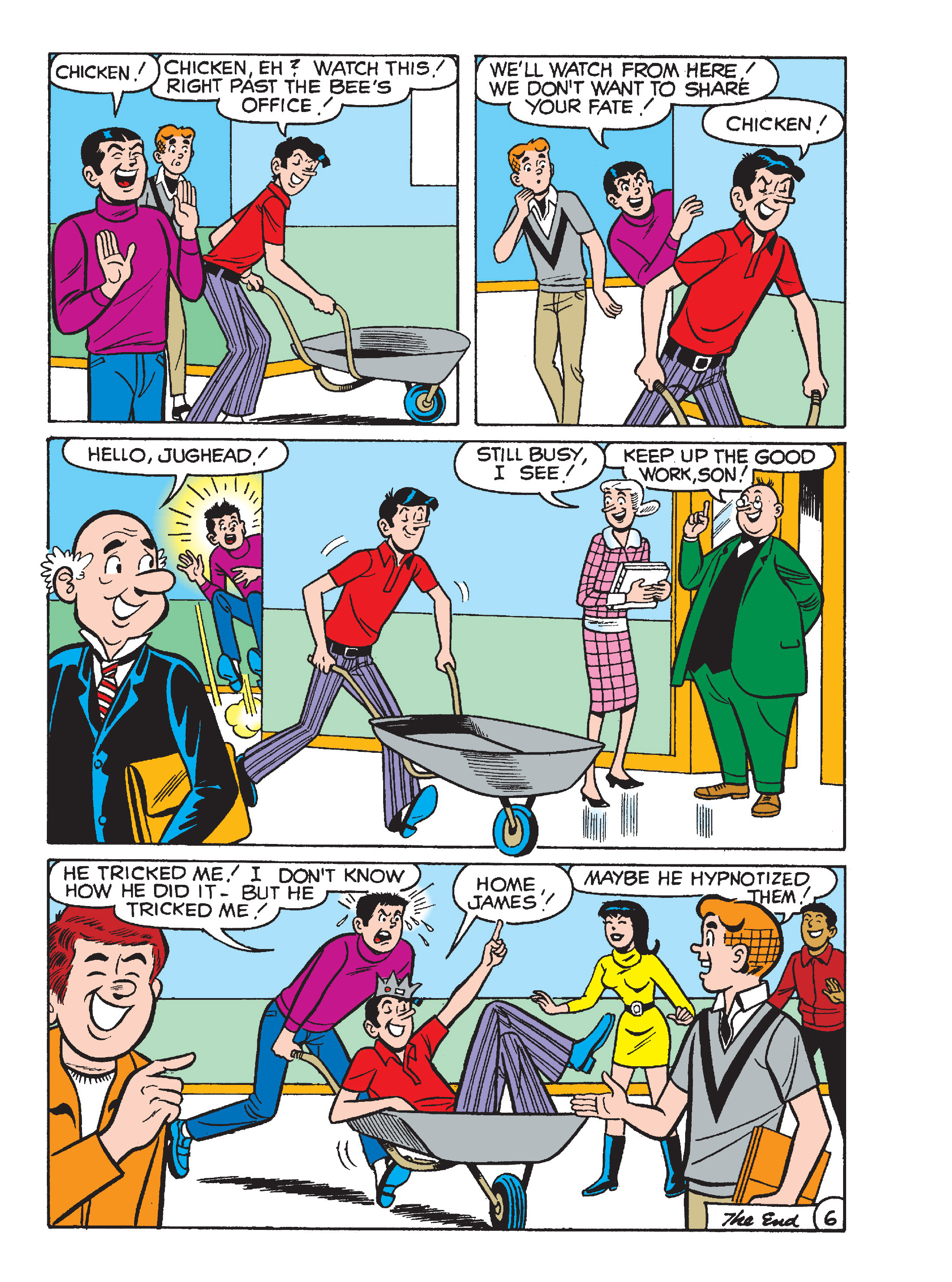 Read online World of Archie Double Digest comic -  Issue #64 - 114