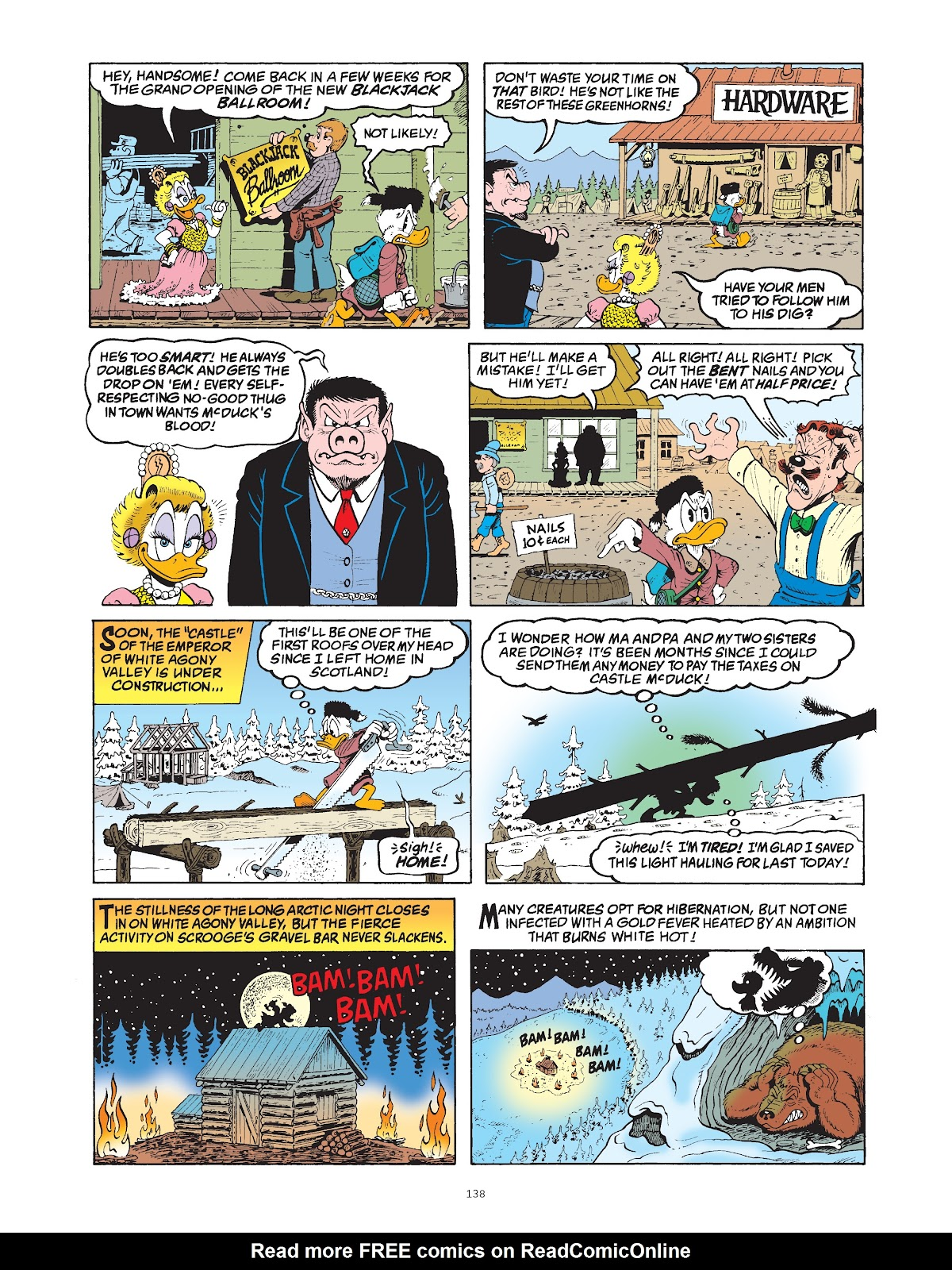 Read online The Complete Life and Times of Scrooge McDuck comic -  Issue # TPB 1 (Part 2) - 37
