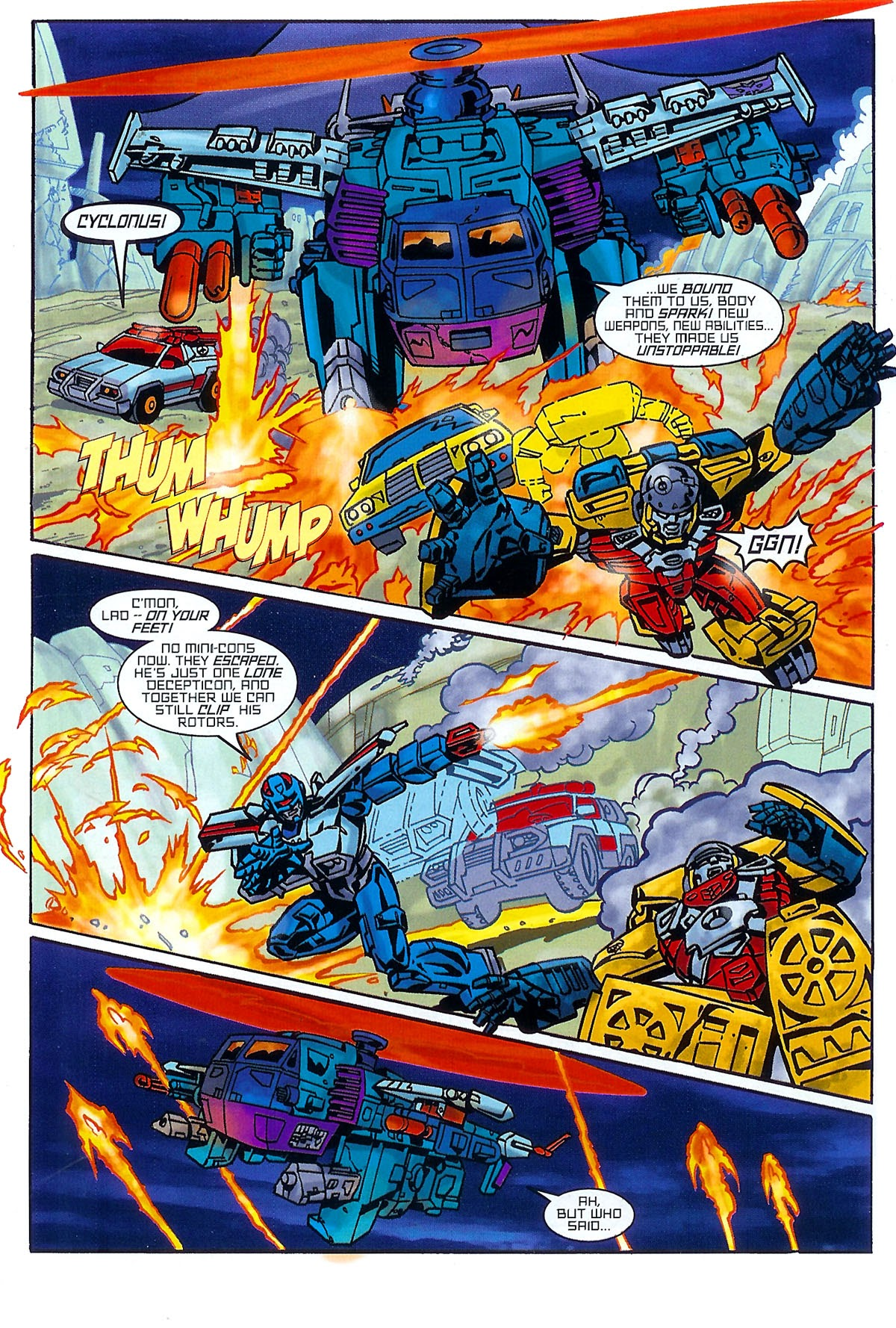 Read online Transformers: The Balance of Power comic -  Issue # Full - 7