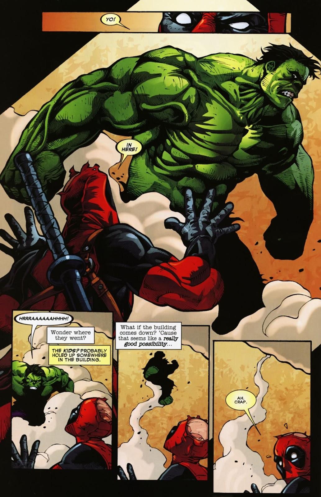 Read online Deadpool (2008) comic -  Issue #39 - 5