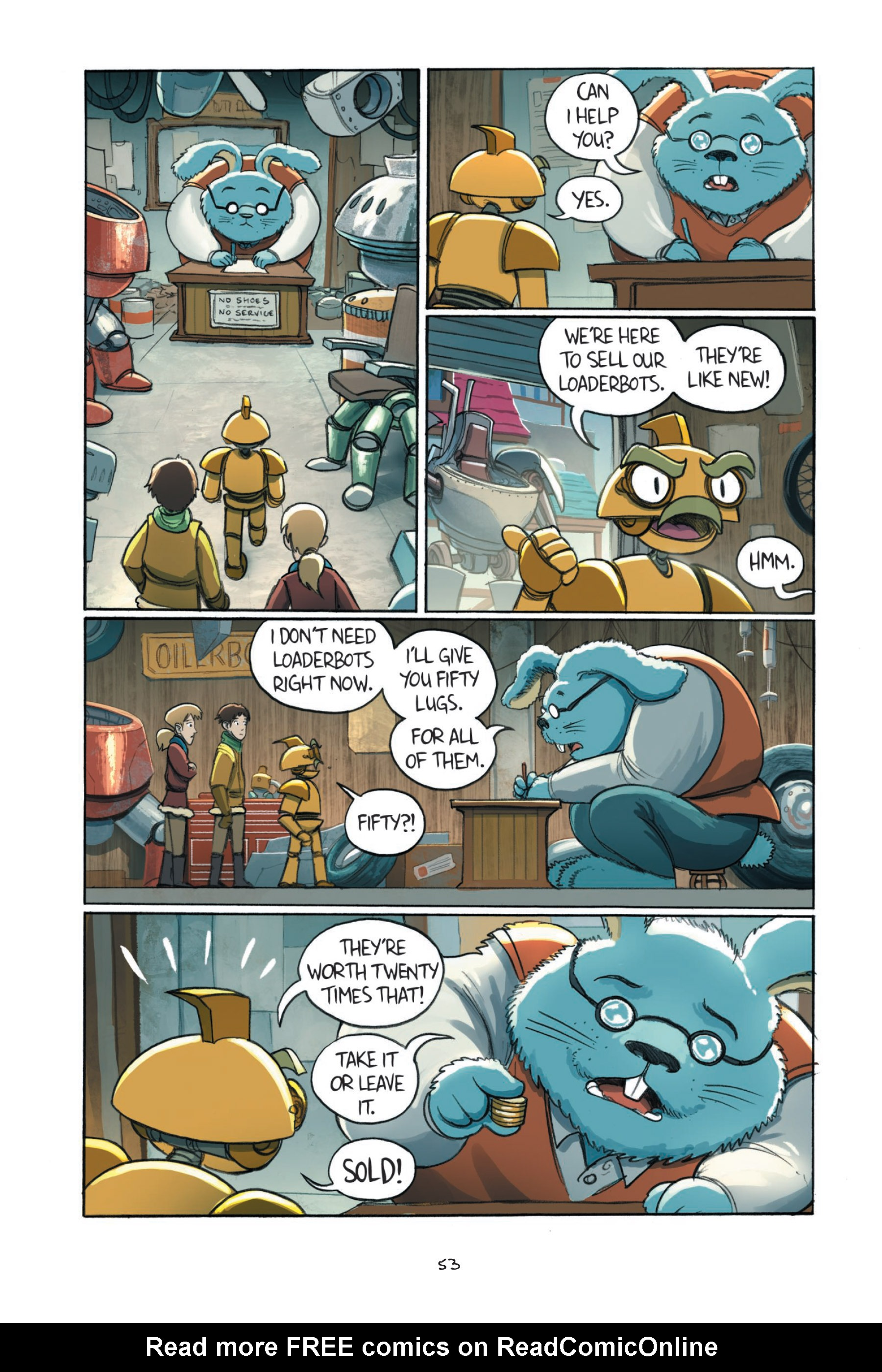 Read online Amulet comic -  Issue #7 - 55