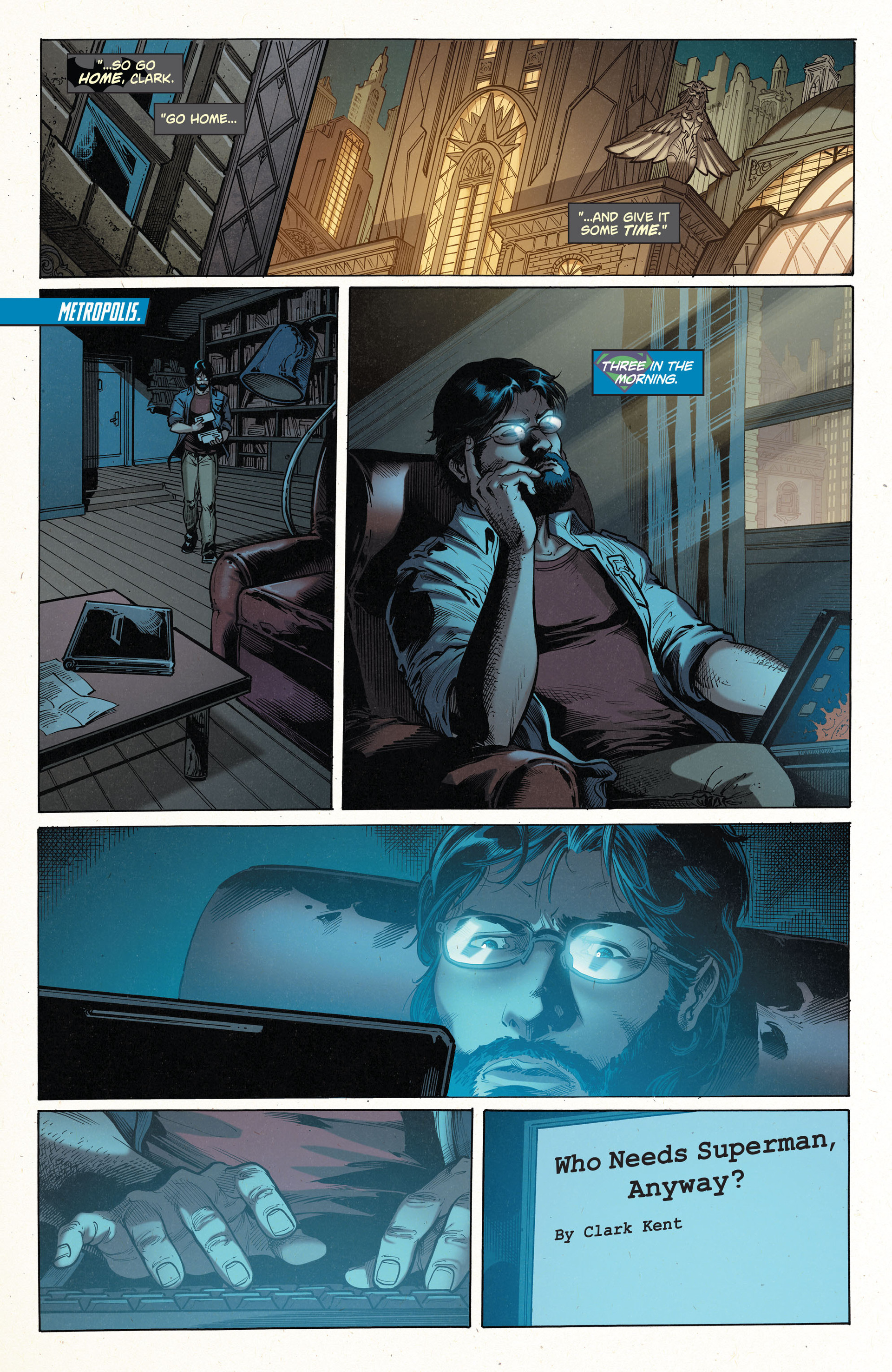 Read online Action Comics (2011) comic -  Issue #35 - 16