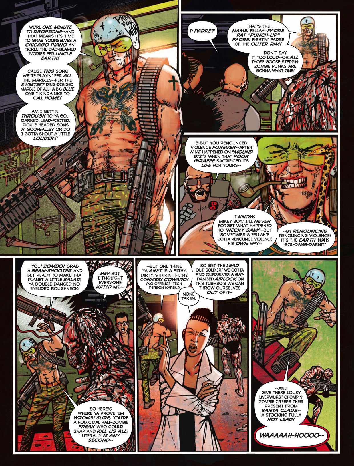 Read online 2000 AD comic -  Issue #1746 - 175