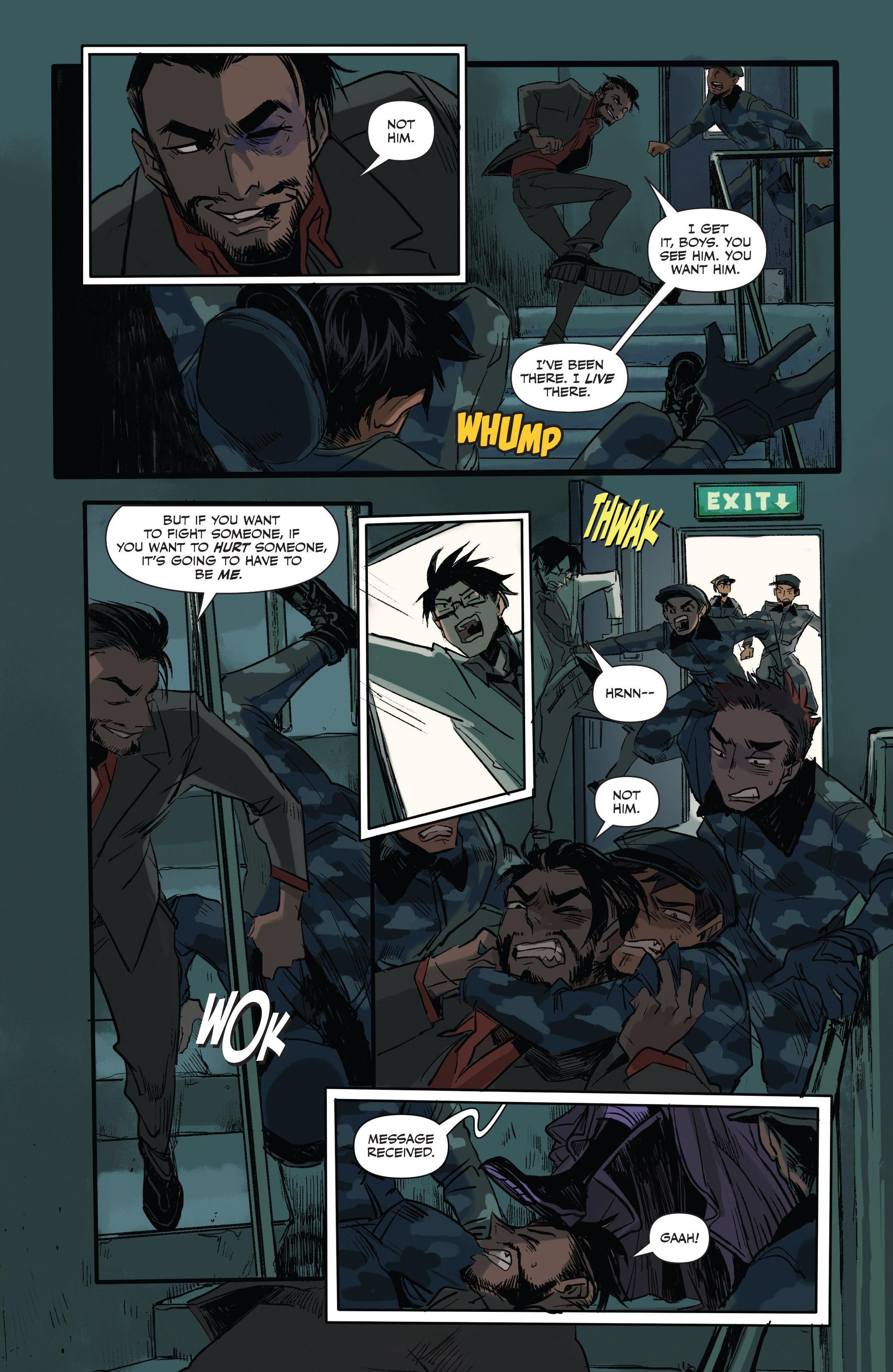 Read online Freelance comic -  Issue #3 - 9