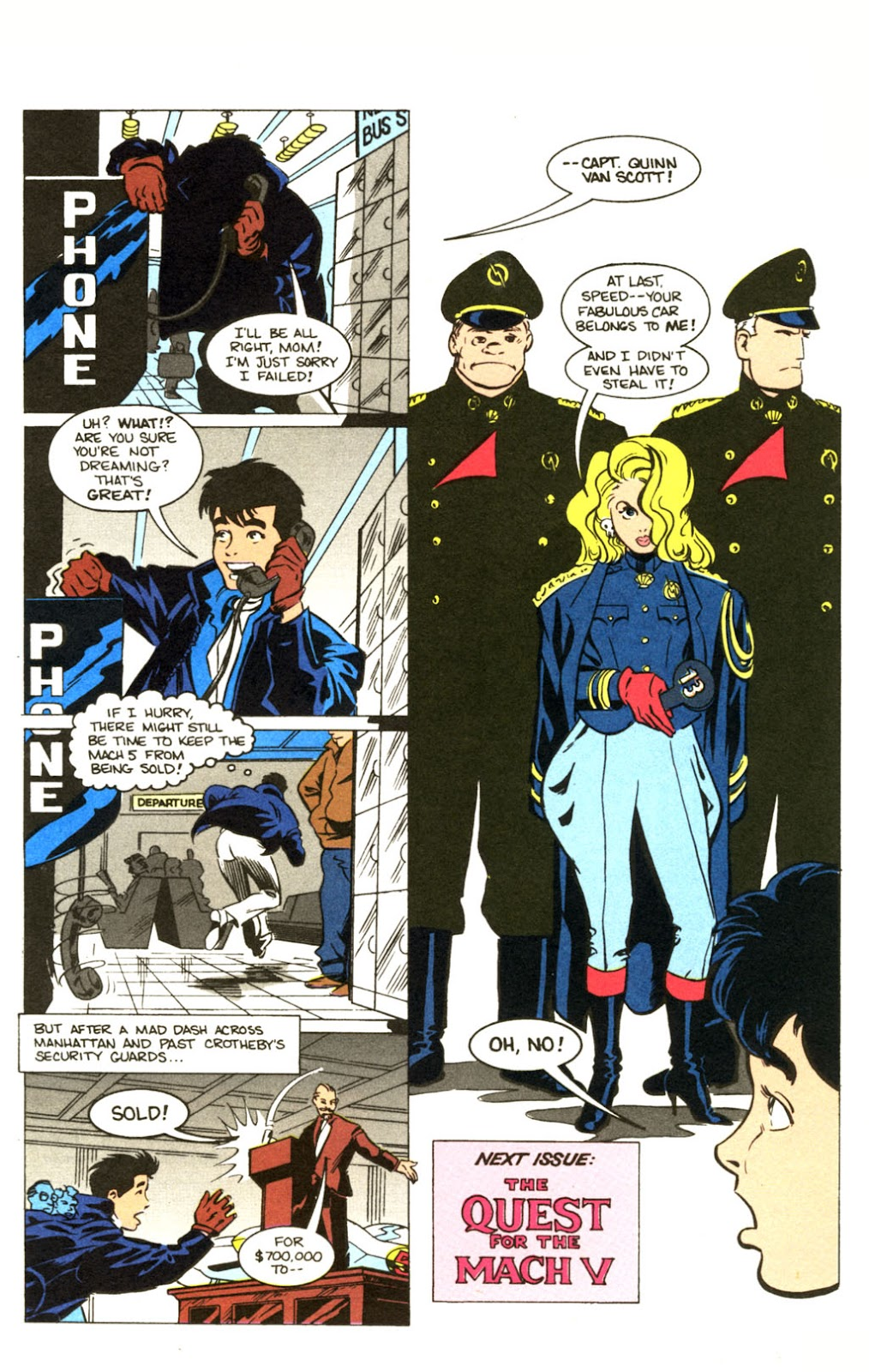 Speed Racer (1987) issue 30 - Page 27