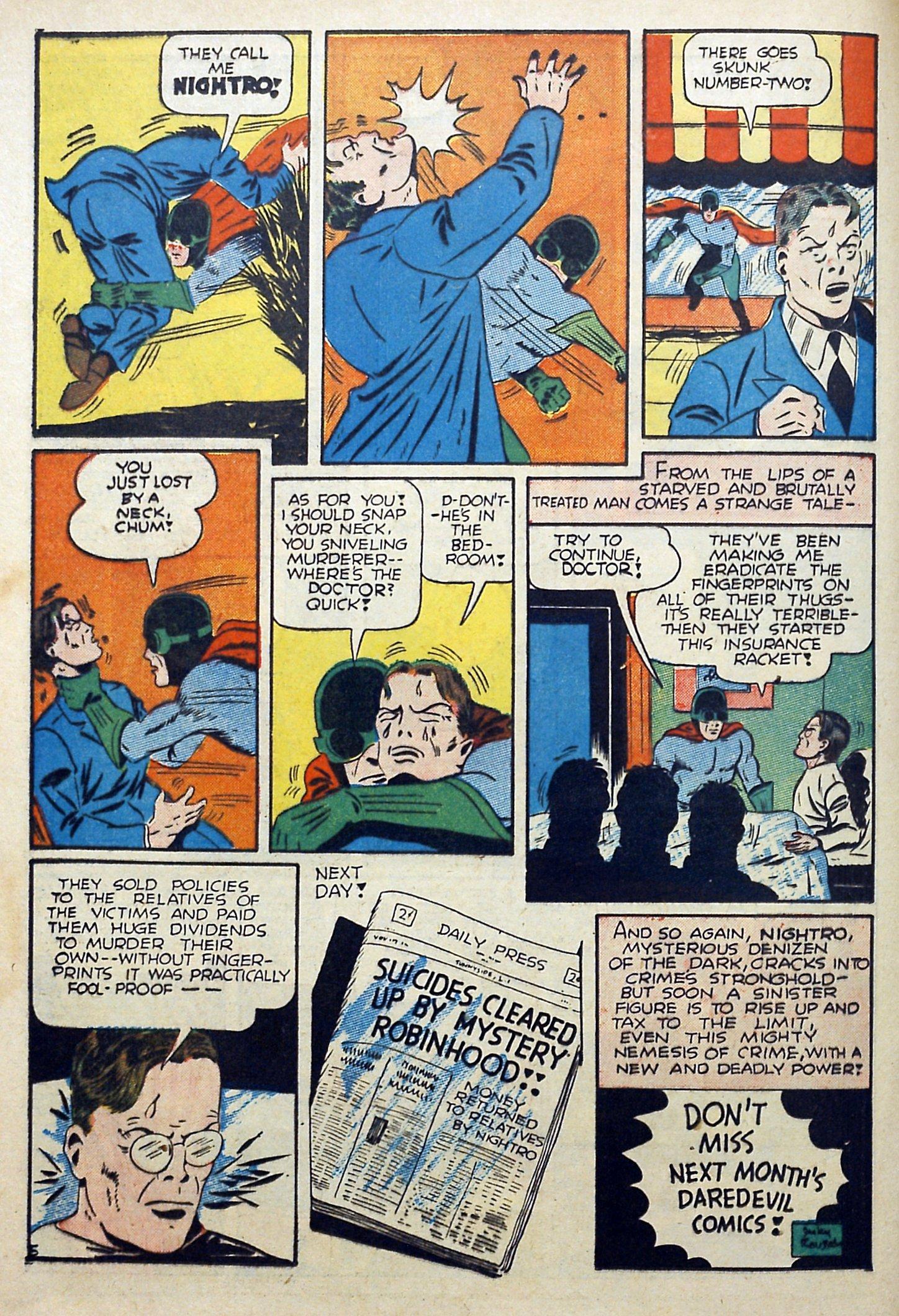 Daredevil (1941) issue 3 - Page 20