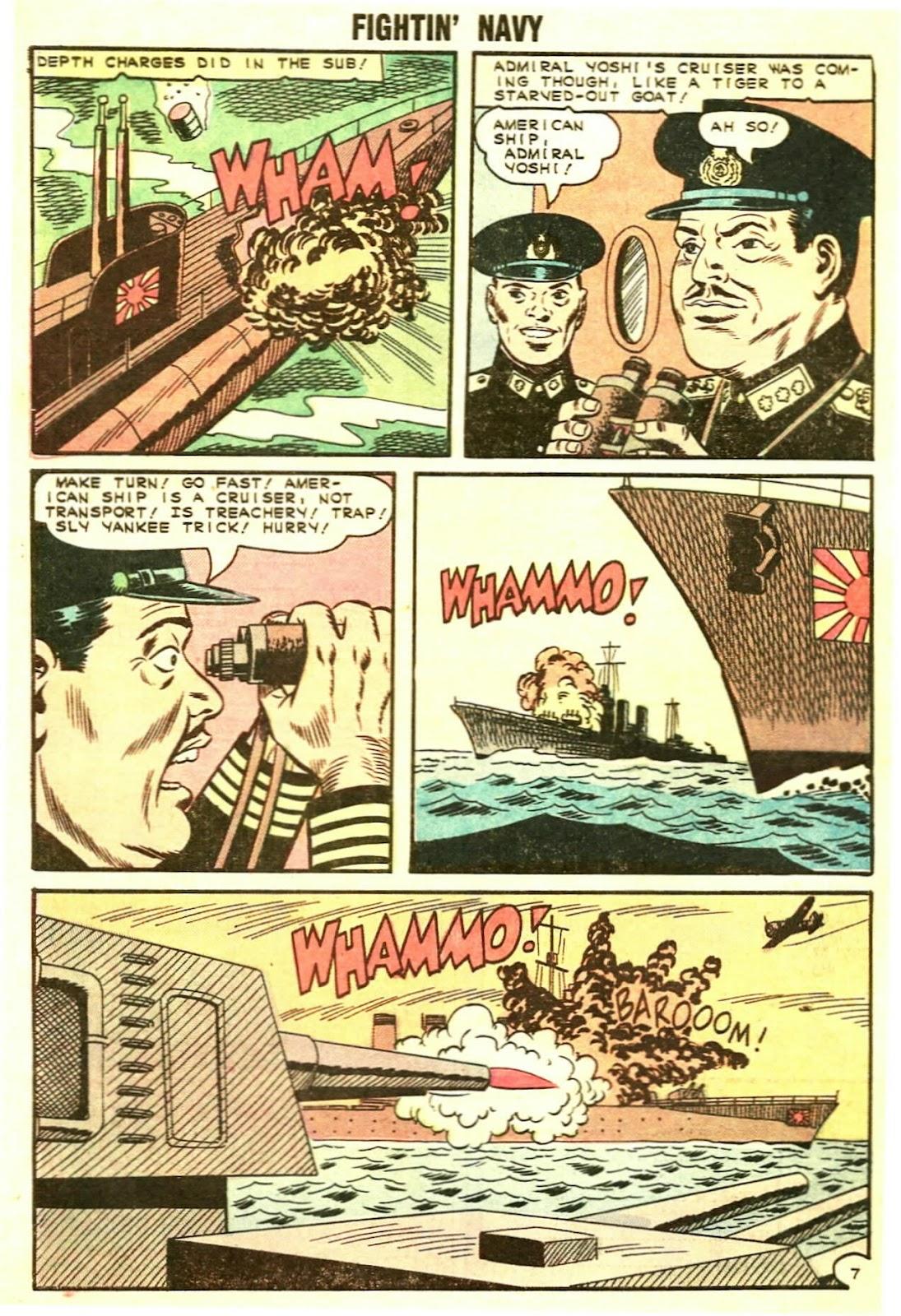Read online Fightin' Navy comic -  Issue #119 - 32
