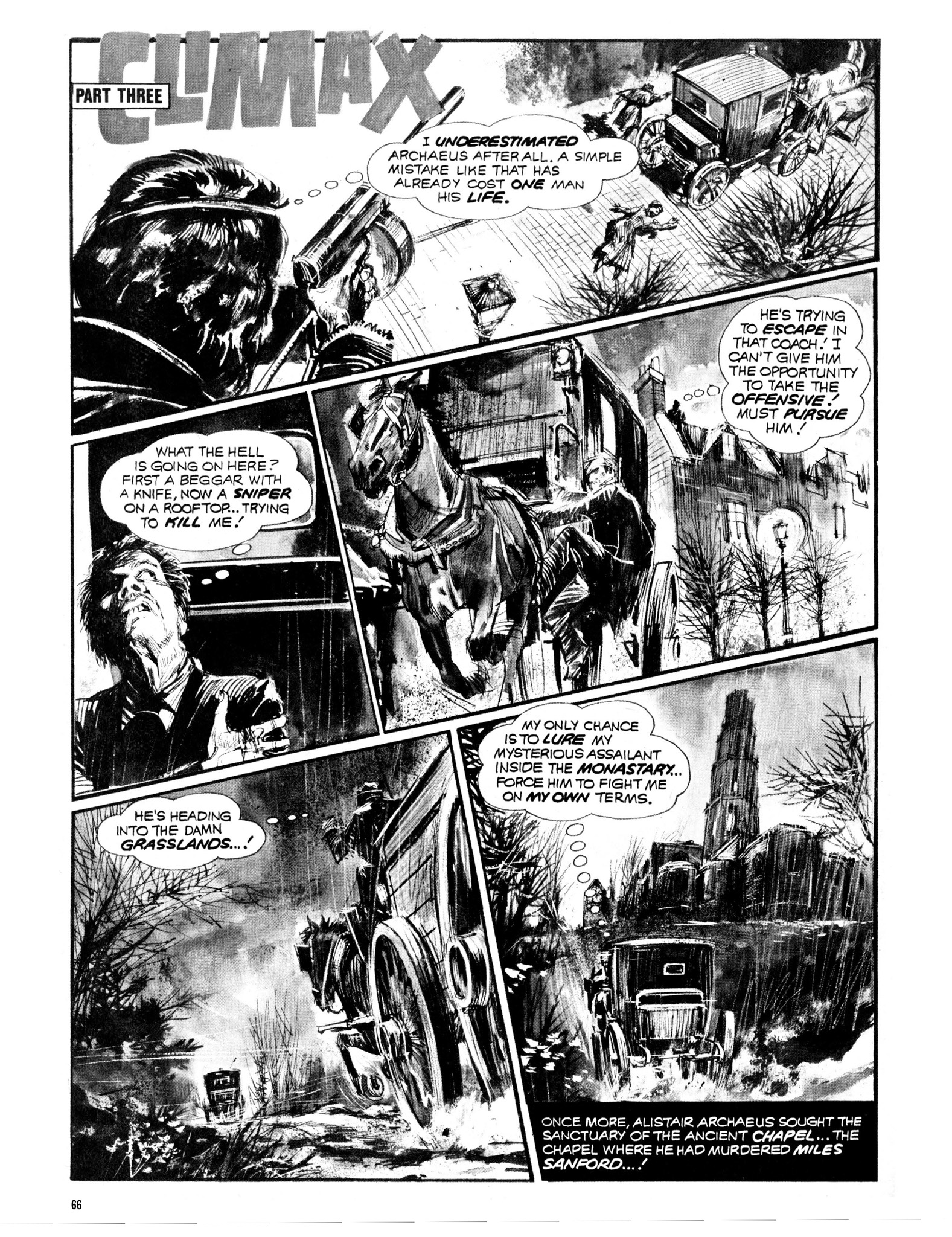 Read online Eerie Archives comic -  Issue # TPB 13 - 67