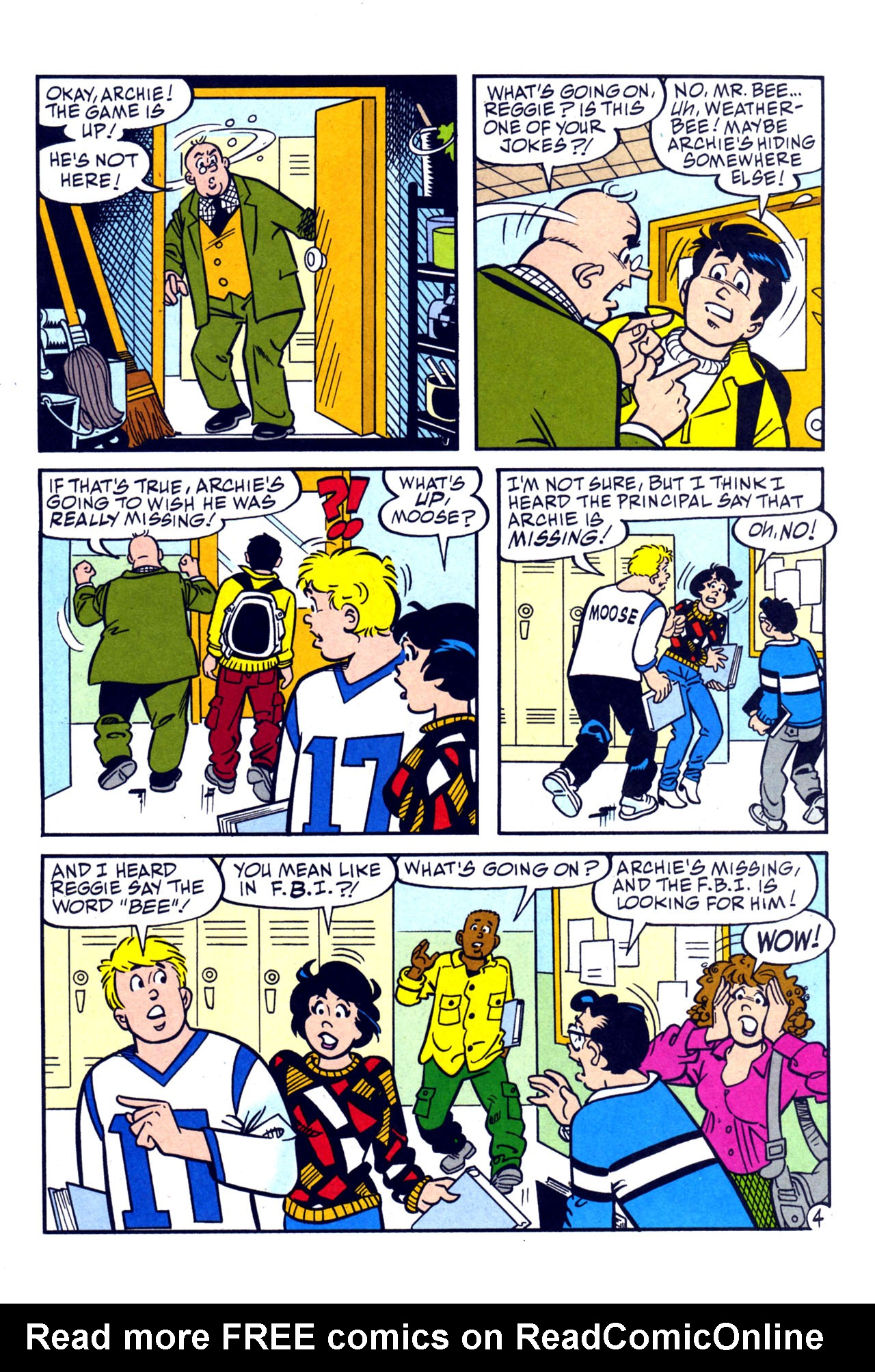 Read online Archie (1960) comic -  Issue #579 - 5