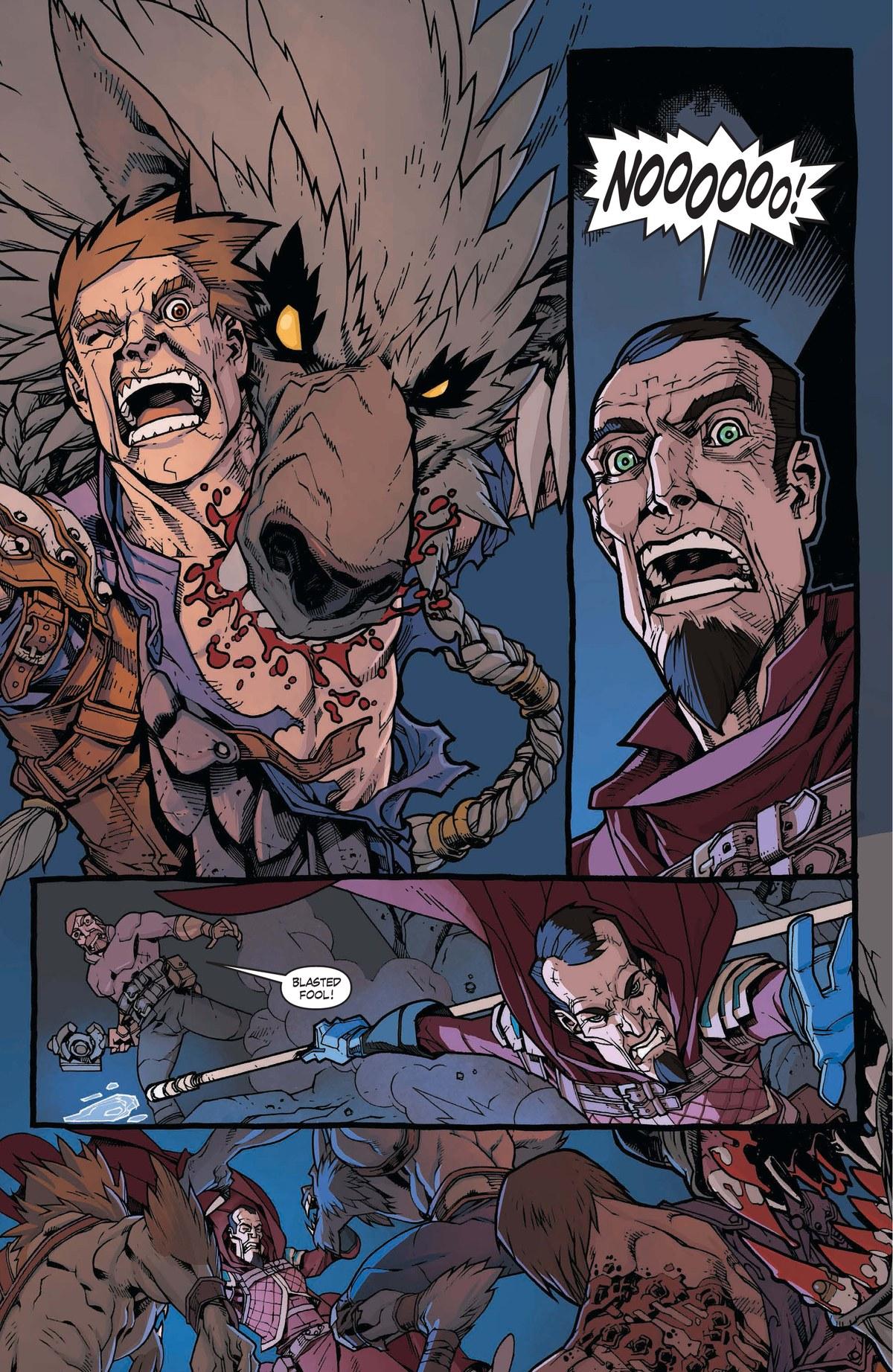 Read online World of Warcraft: Dark Riders comic -  Issue # Full - 69
