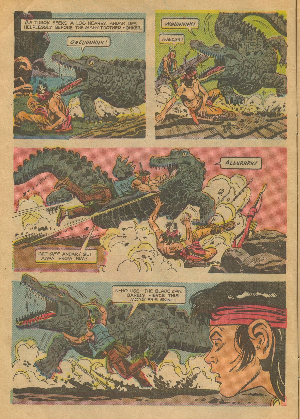 Read online Turok, Son of Stone comic -  Issue #70 - 4