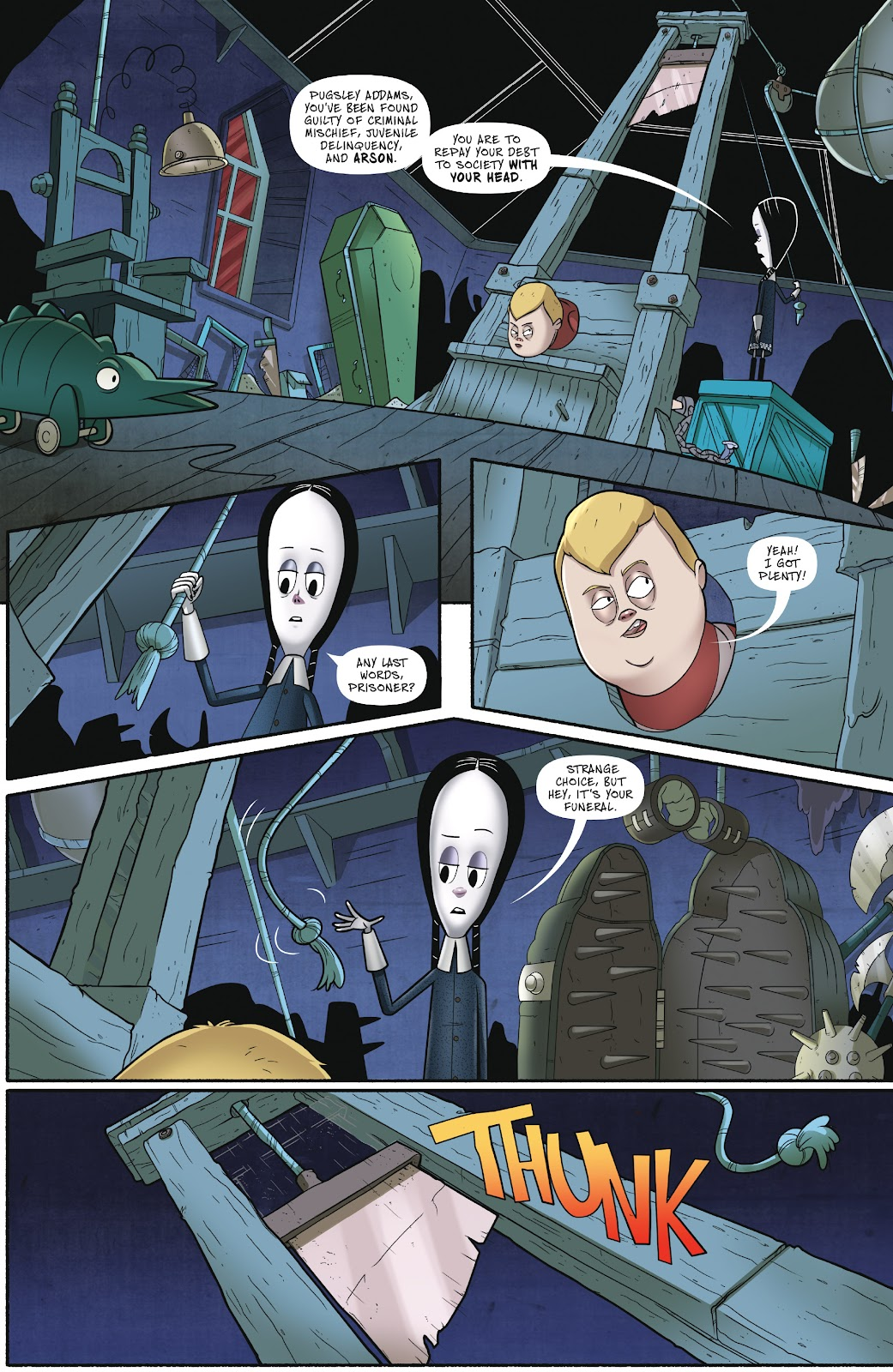 Read online Addams Family: The Bodies Issue comic -  Issue # Full - 5
