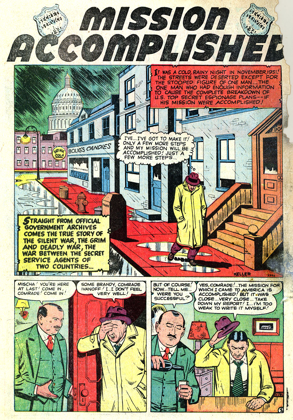 Kent Blake of the Secret Service issue 1 - Page 28