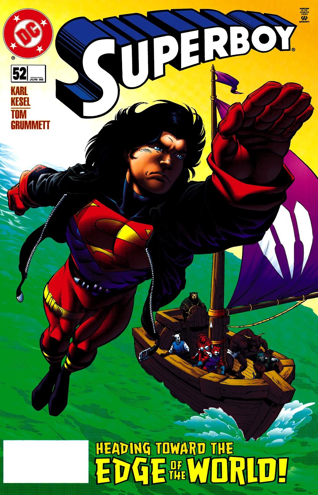 Superboy (1994) 52 Page 1