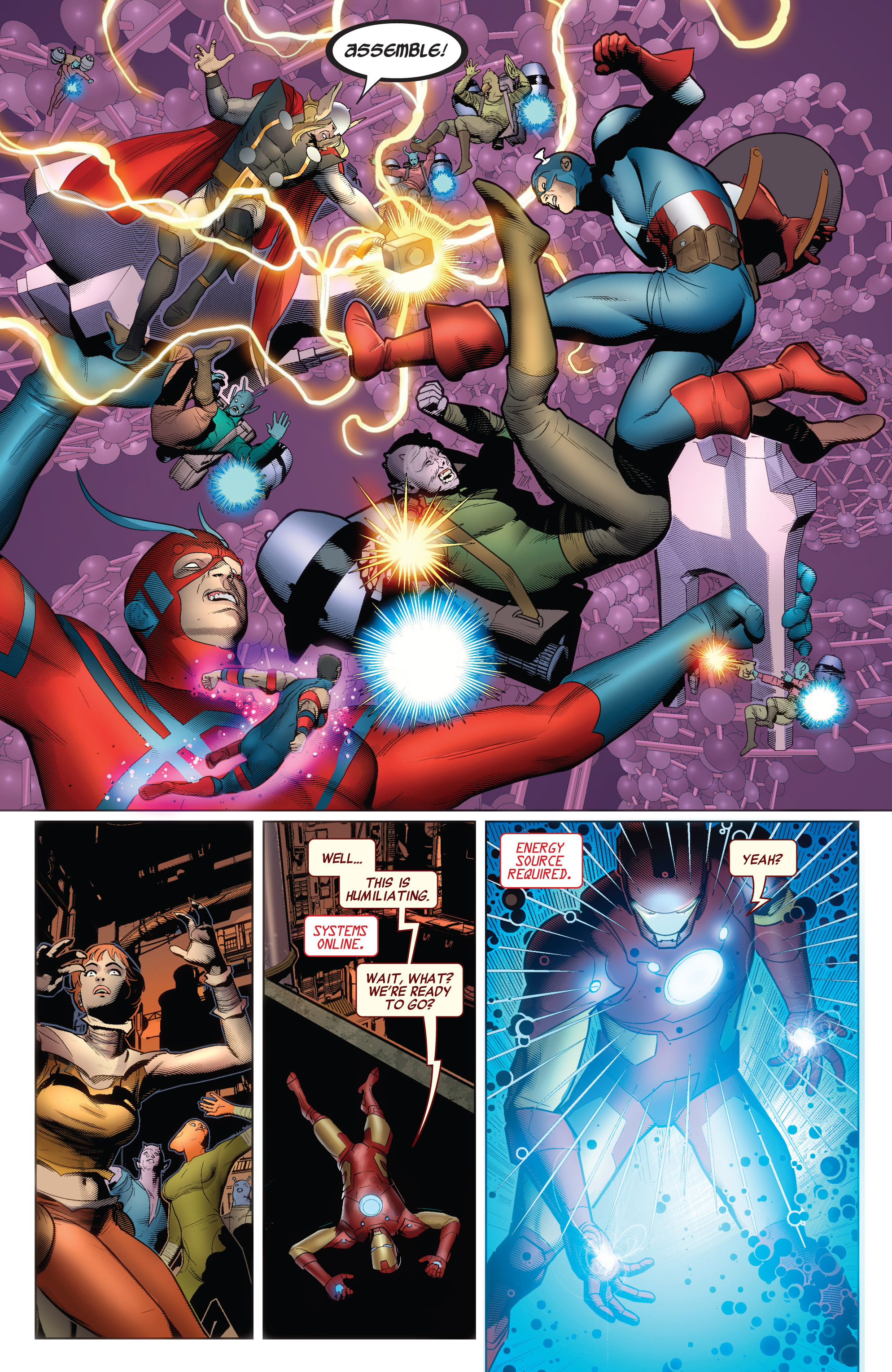 Read online Avengers (2010) comic -  Issue #34 - 16
