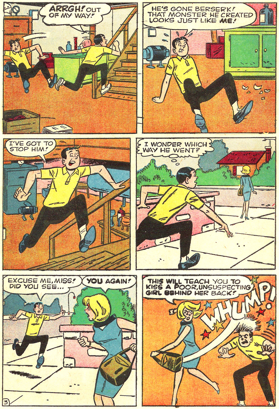 Read online Archie (1960) comic -  Issue #157 - 22