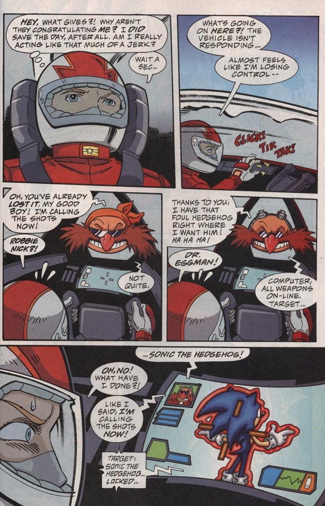Read online Sonic X comic -  Issue #20 - 21