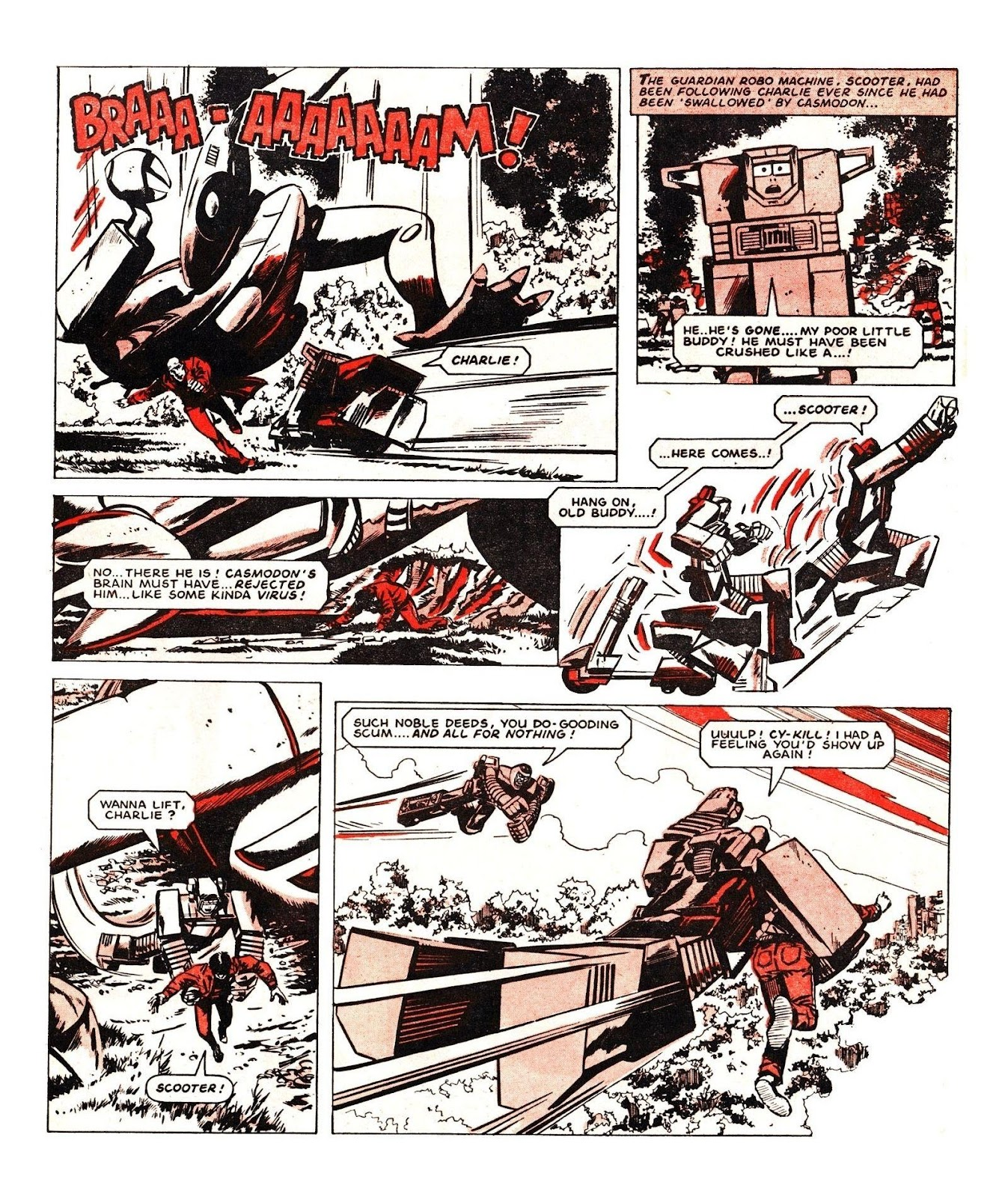 Read online Robo Machines comic -  Issue # TPB - 113