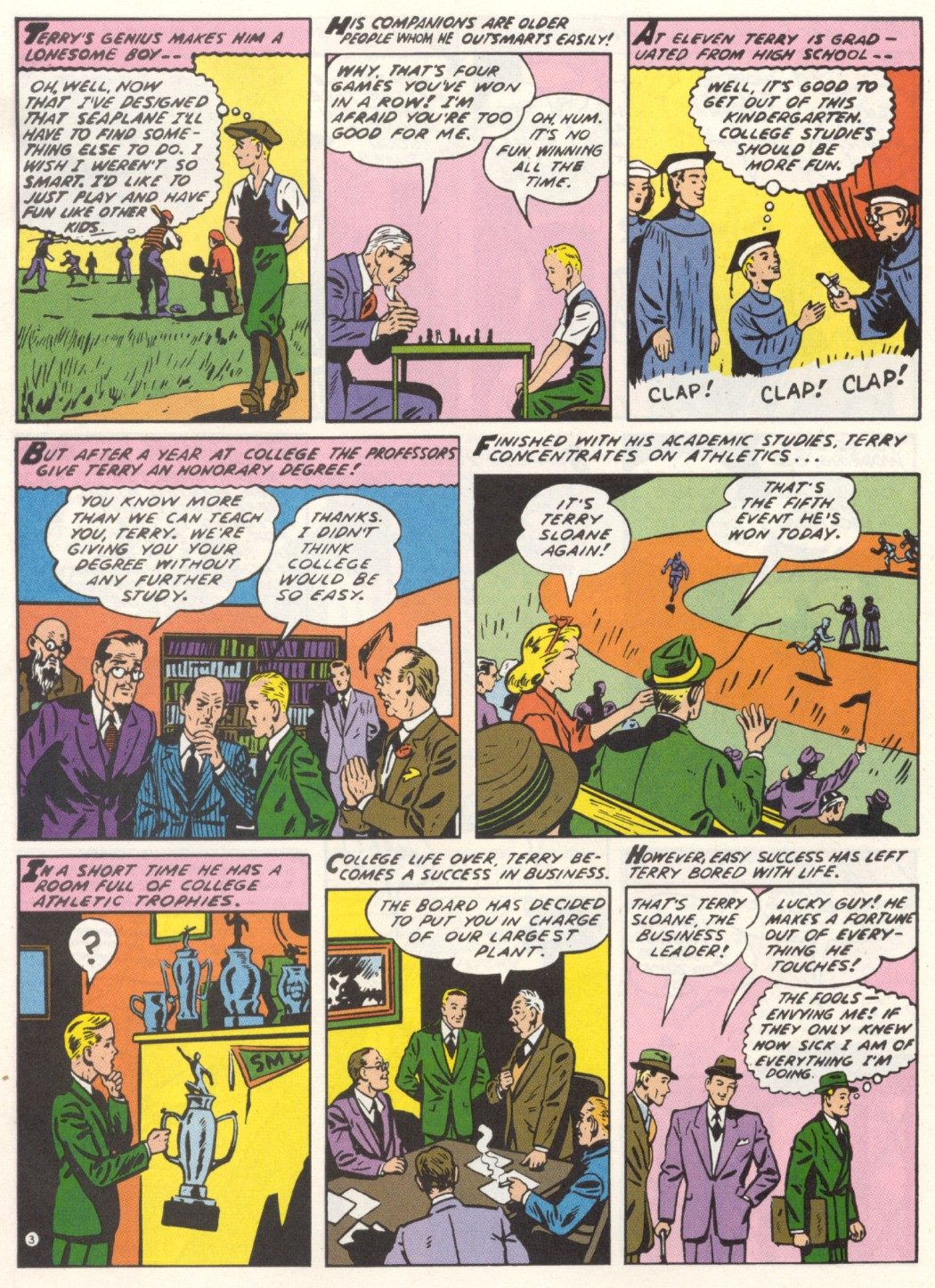 Read online Sensation (Mystery) Comics comic -  Issue #1 - 27