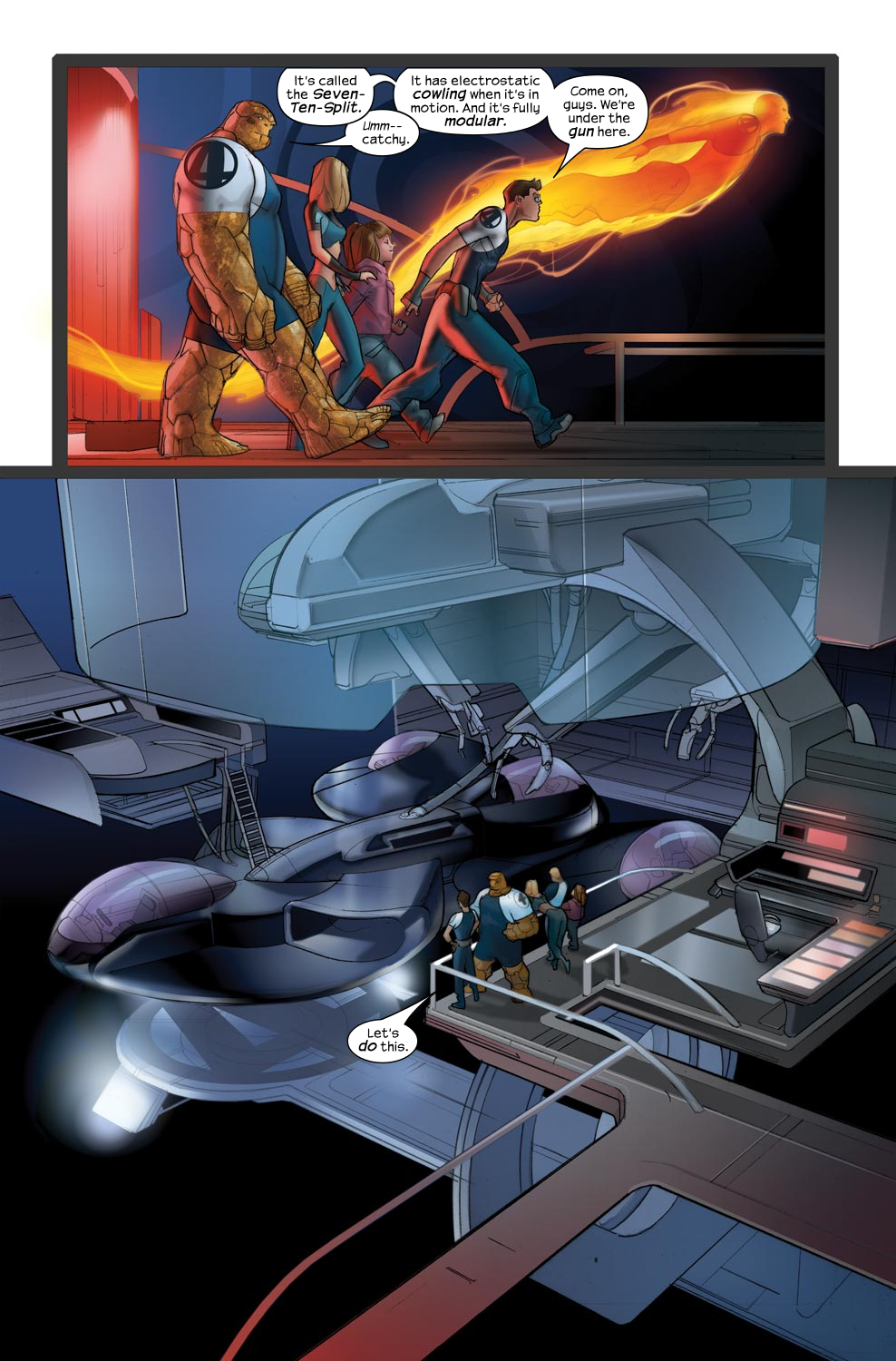 Read online Ultimate Fantastic Four (2004) comic -  Issue #43 - 7