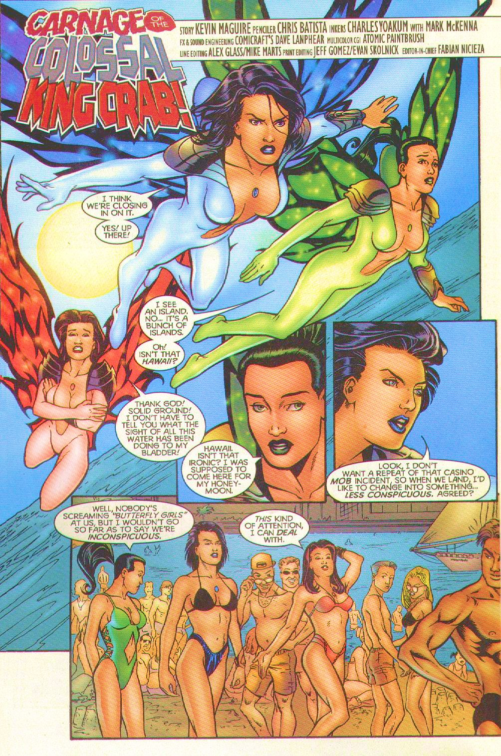 Read online Trinity Angels comic -  Issue #8 - 4