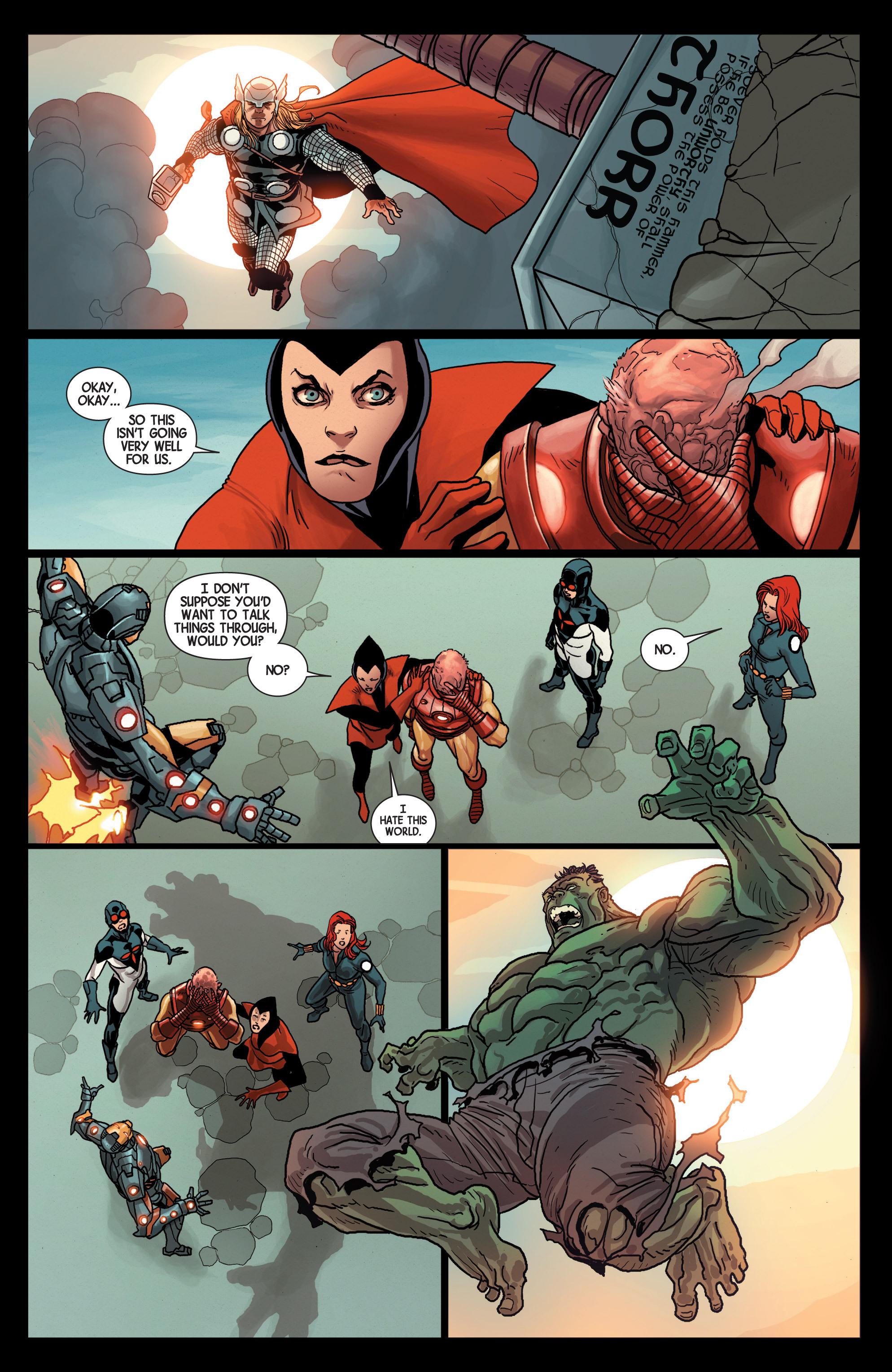 Read online Avengers (2013) comic -  Issue #Avengers (2013) _TPB 5 - 108