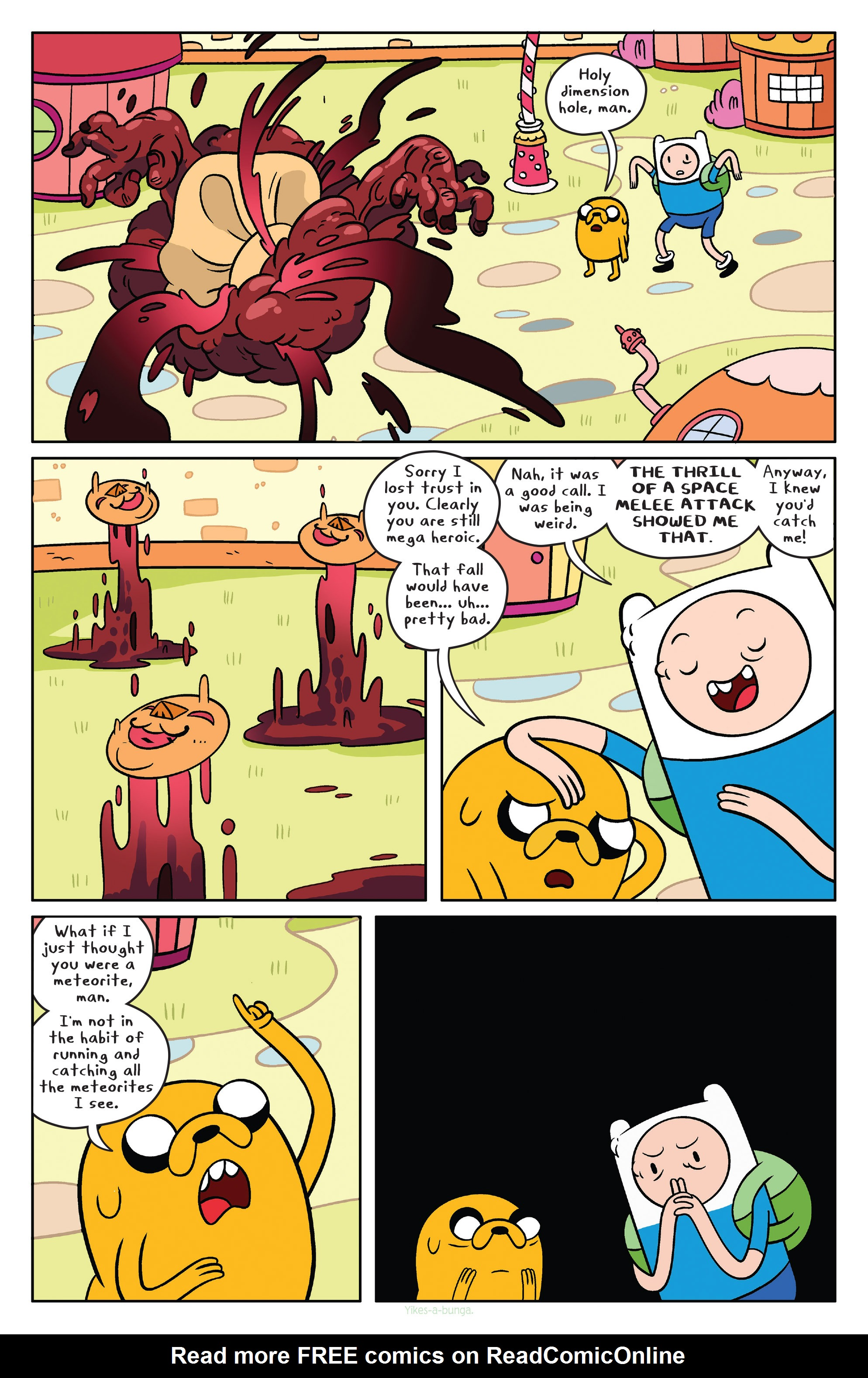 Read online Adventure Time comic -  Issue #39 - 17