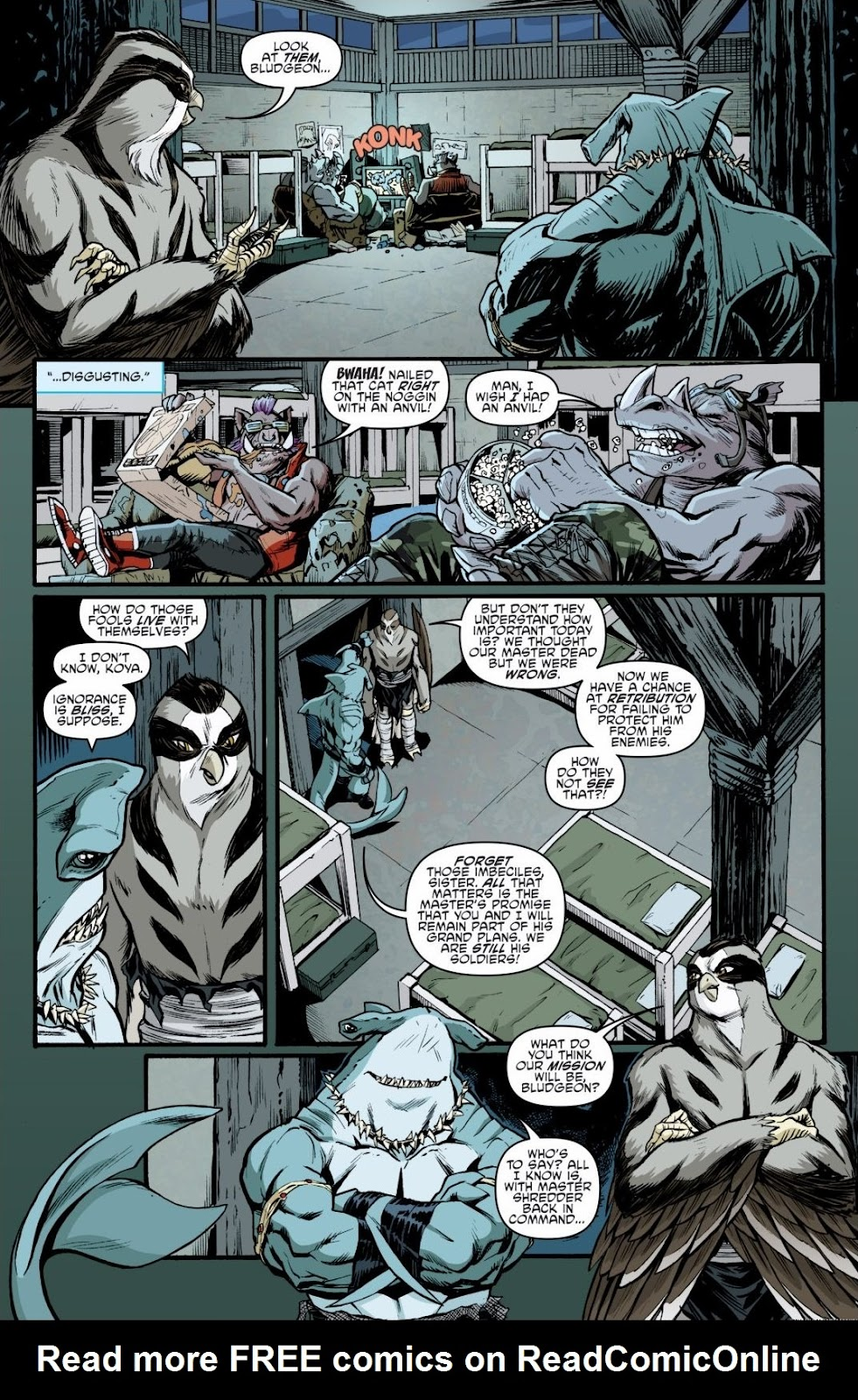 Read online Teenage Mutant Ninja Turtles: The IDW Collection comic -  Issue # TPB 6 (Part 3) - 16