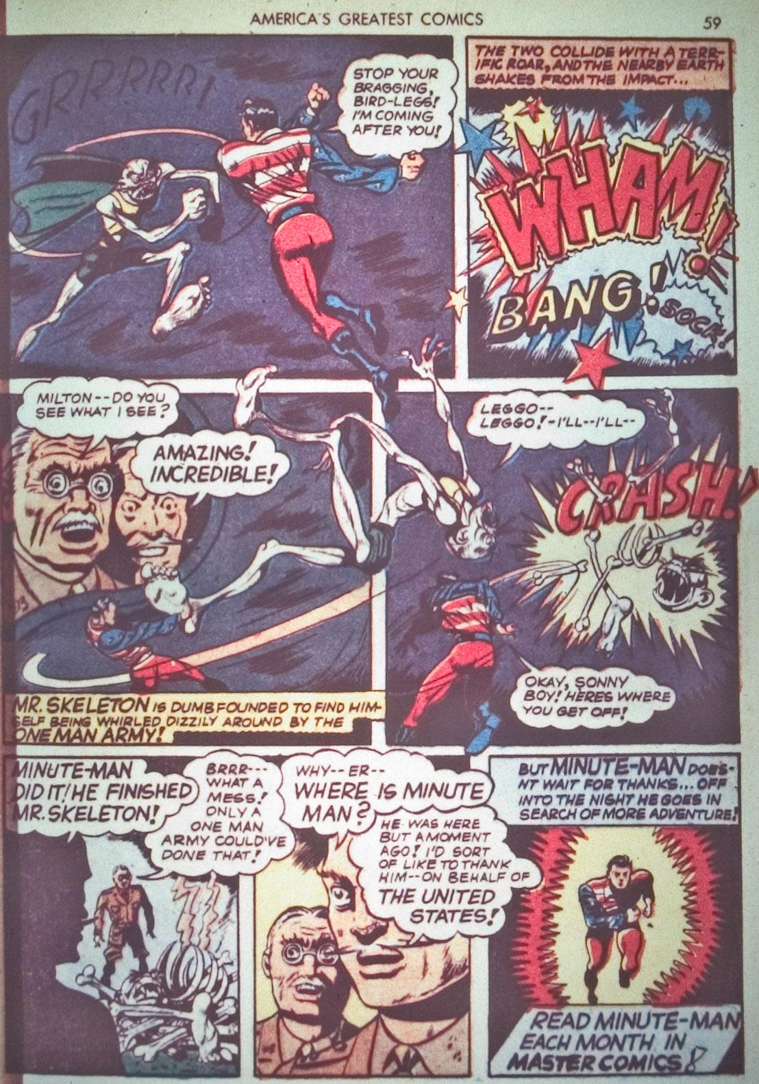 Read online America's Greatest Comics comic -  Issue #1 - 62