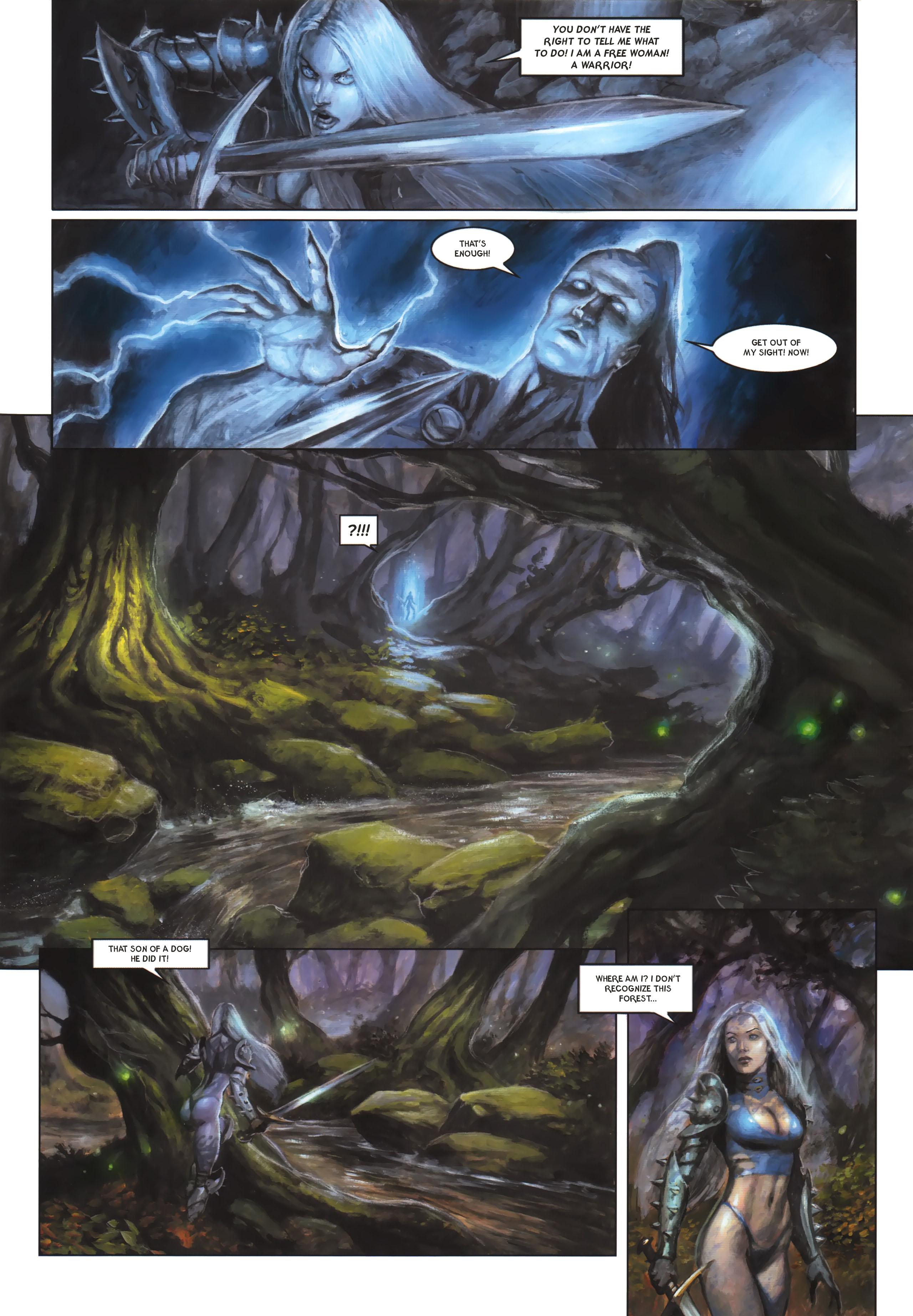 Read online Arawn comic -  Issue #6 - 12