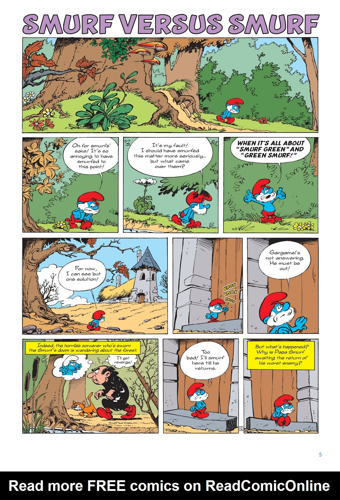 Read online The Smurfs comic -  Issue #12 - 5