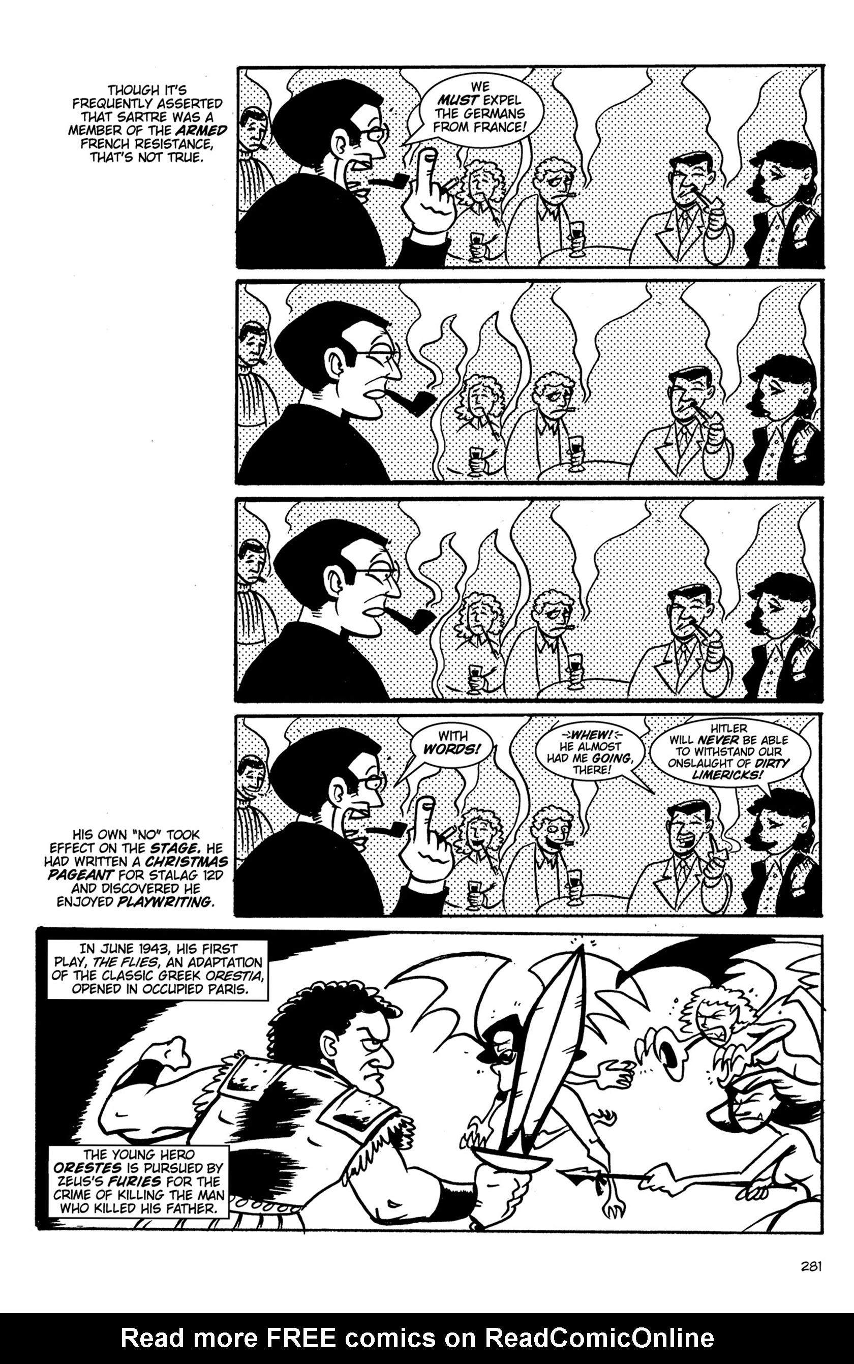 Read online Action Philosophers! comic -  Issue #Action Philosophers! TPB (Part 2) - 109