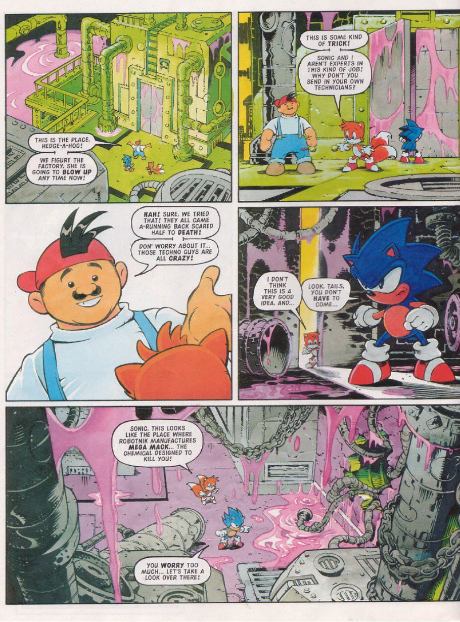 Read online Sonic the Comic comic -  Issue #114 - 6