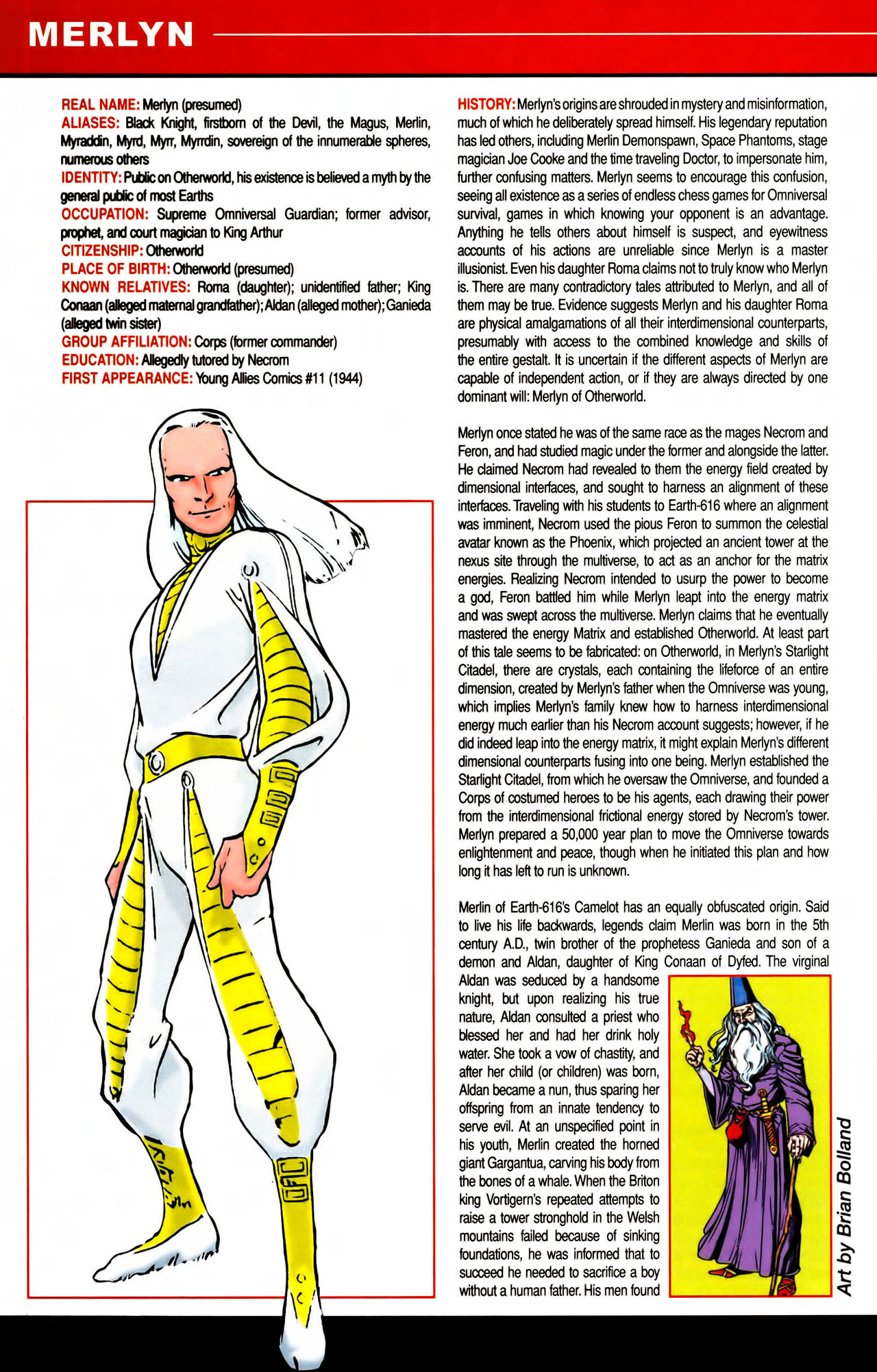 Read online All-New Official Handbook of the Marvel Universe A to Z comic -  Issue #7 - 28