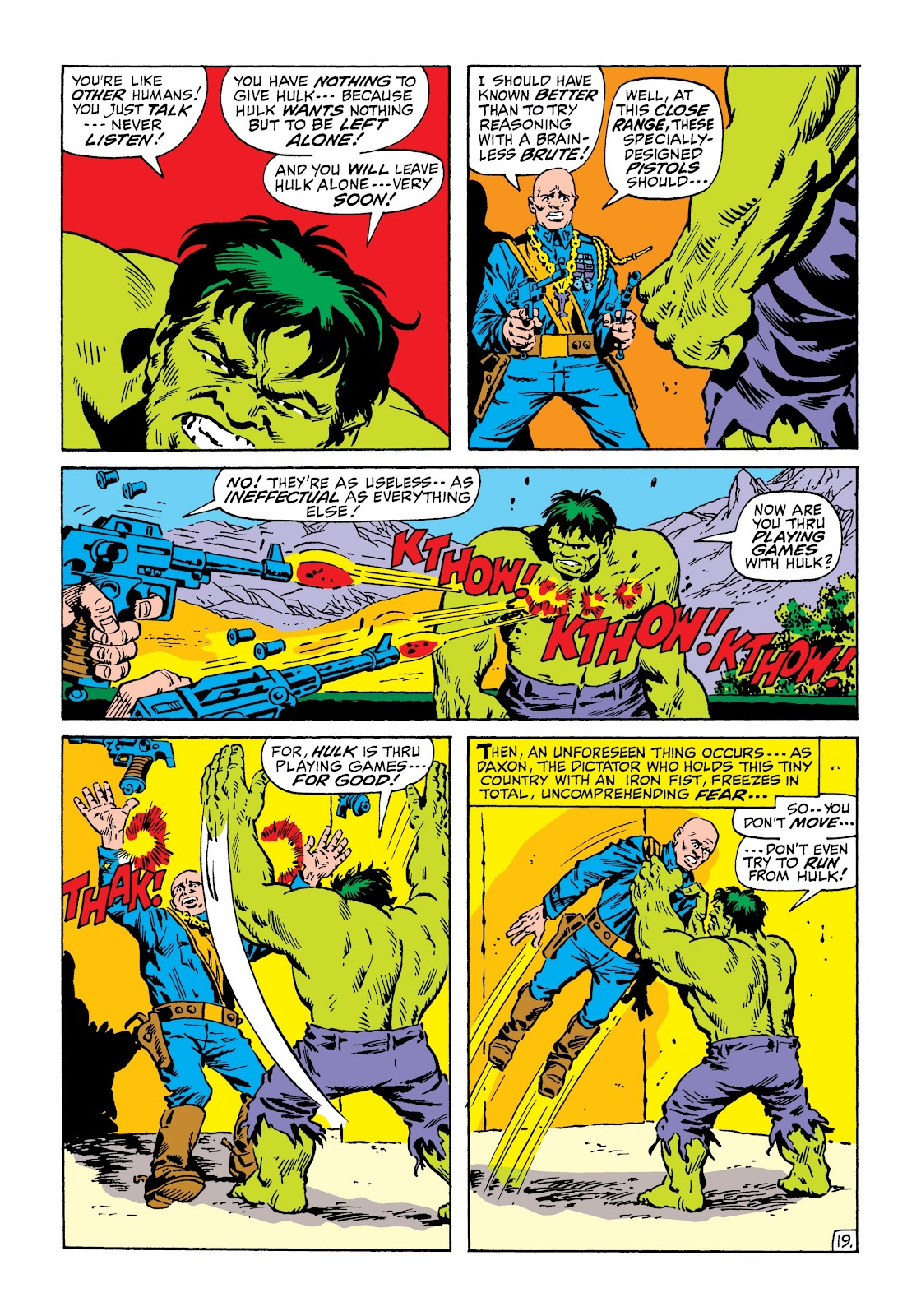 Read online Marvel Masterworks: The Incredible Hulk comic -  Issue # TPB 6 (Part 3) - 52