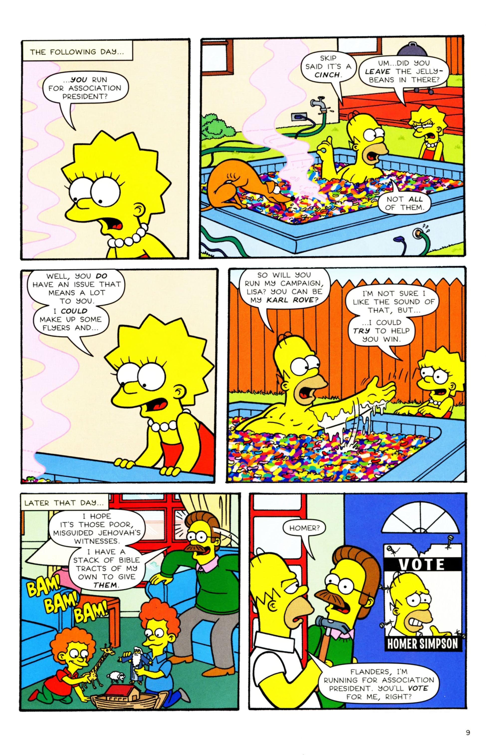 Read online Simpsons Comics comic -  Issue #158 - 8